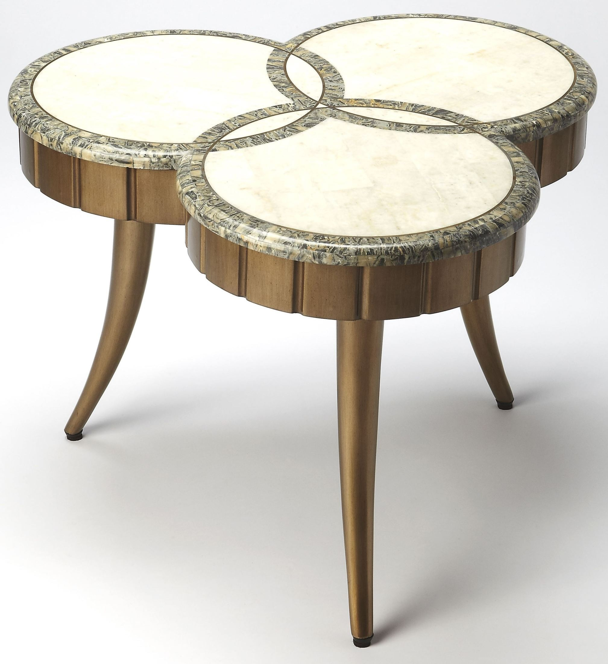 Borromeo fossil stone cocktail table 6138350 butler for Fossil coffee table