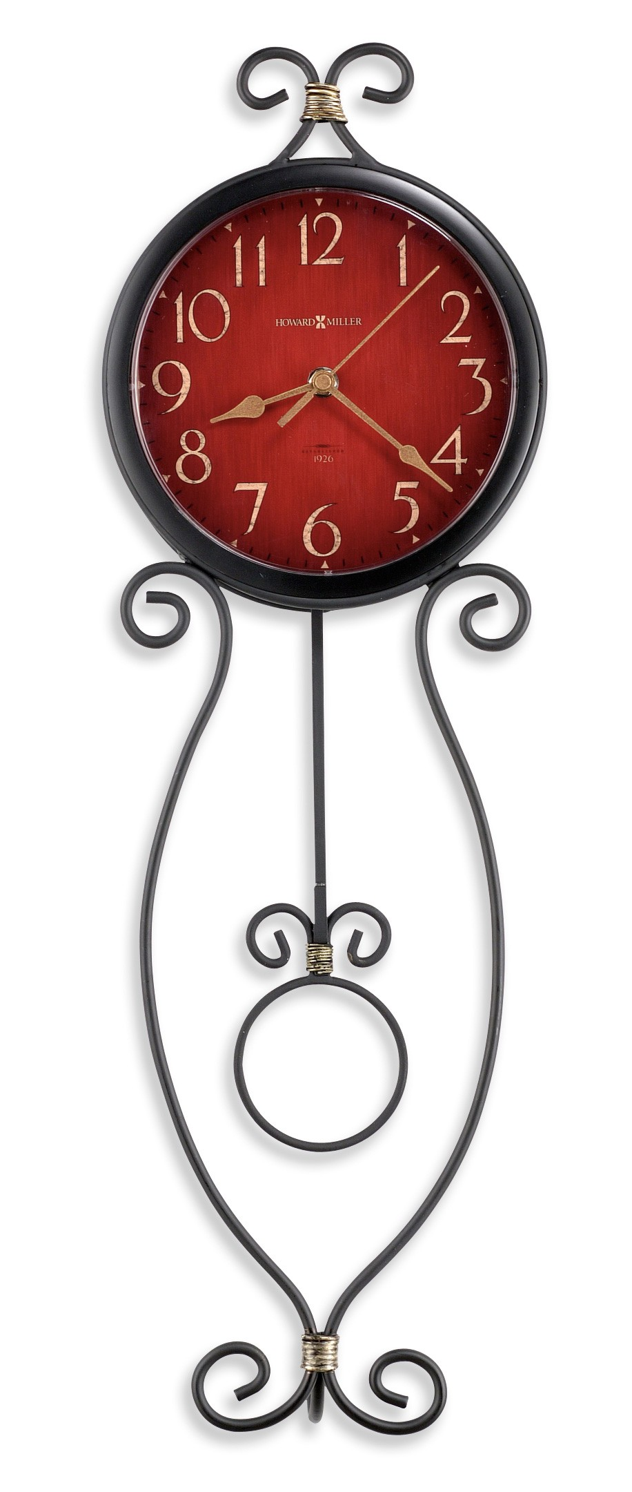 addison wall clock from howard miller 625392 coleman