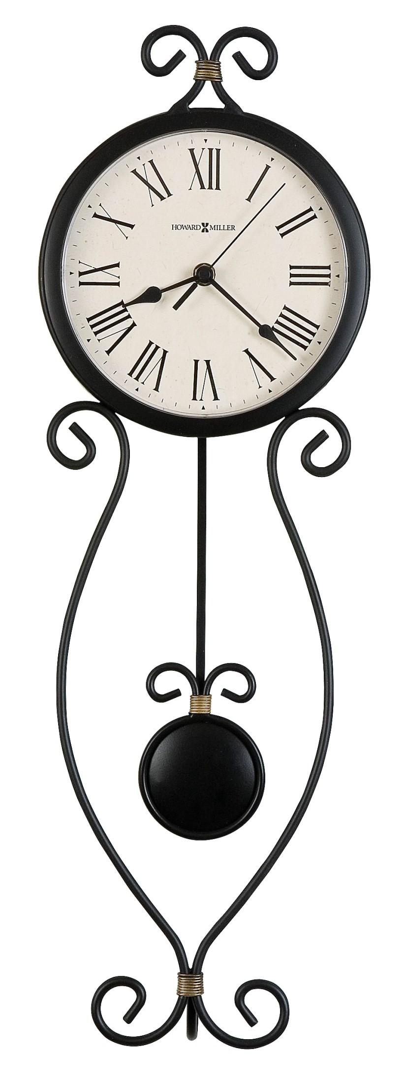 ivana wall clock from howard miller 625495 coleman