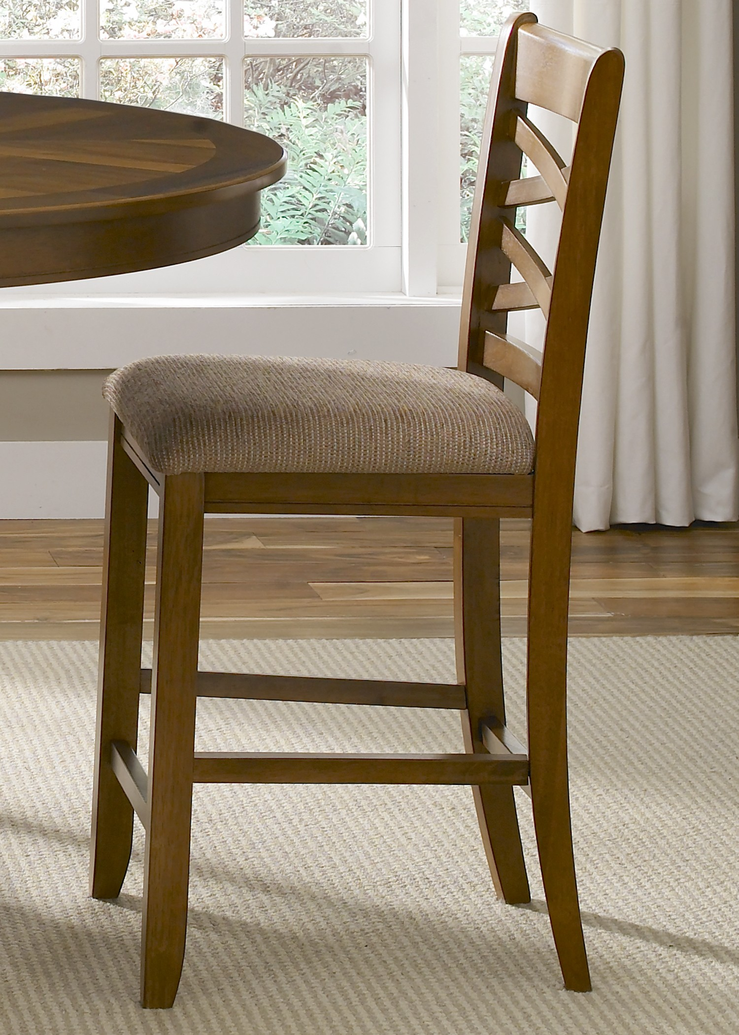 Counter Height X Back Chairs : Bistro Double X Back Counter Height Chair from Liberty (64-B300124 ...