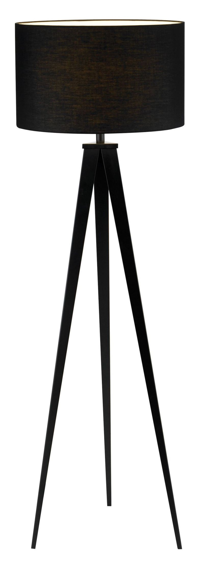 Director Black Floor Lamp From Adesso 6424 01 Coleman