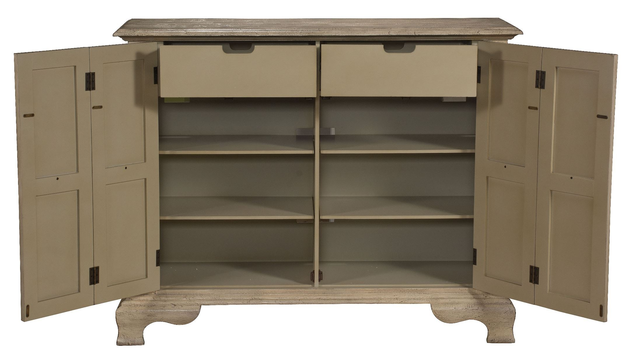 1230 #7A6951 Kendall Texture Ivory Two Folding Door Cabinet From Coast To Coast  wallpaper Accordion Cabinet Doors 29852166