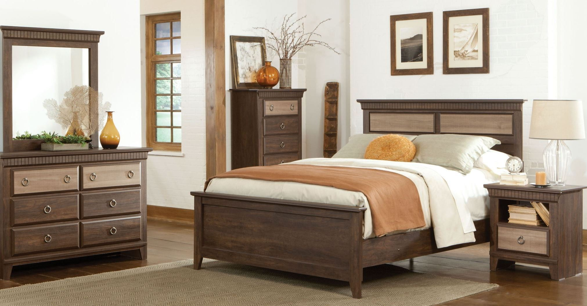 Weatherly Textured Two Tone Youth Panel Bedroom Set 681 53 70 63 Standard F