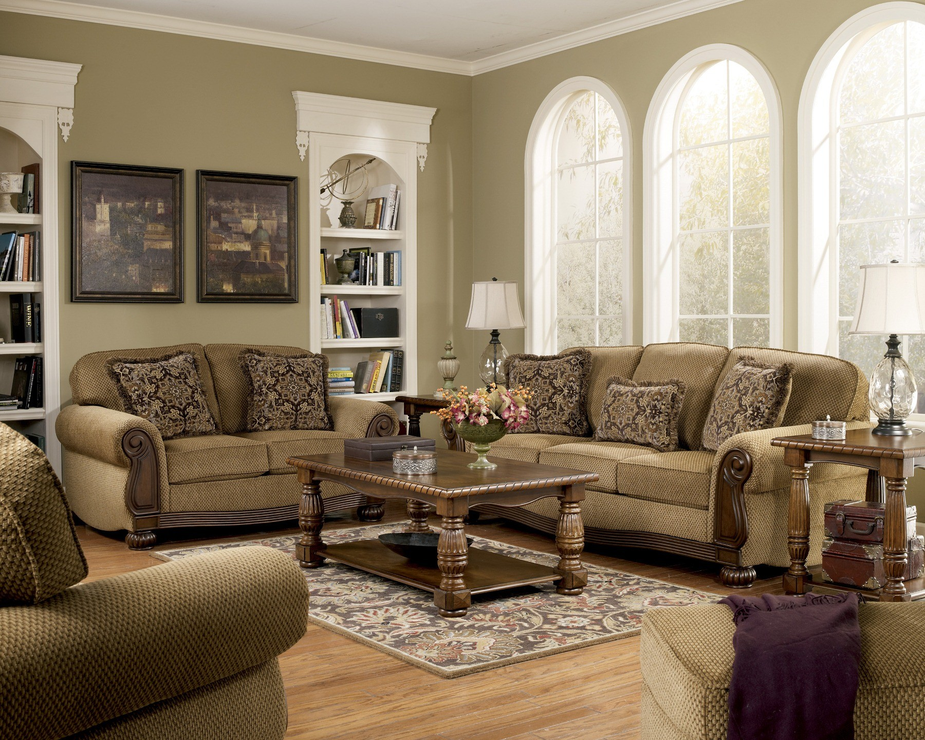 Lynnwood Amber Living Room Set From Ashley 68500