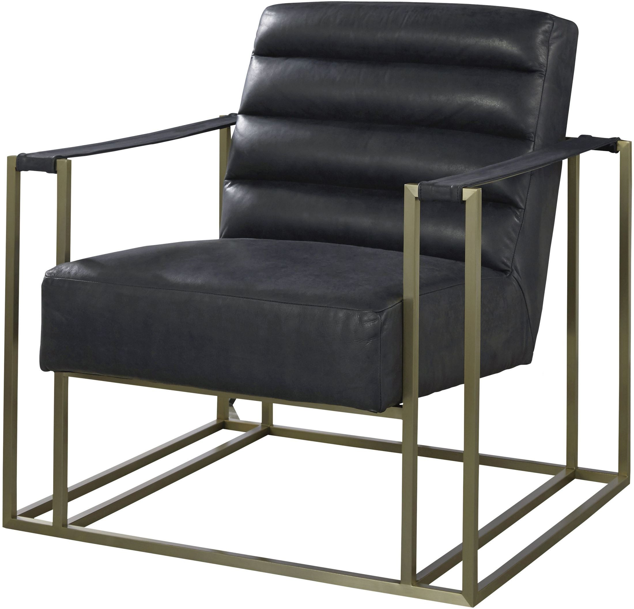 Jensen Black Accent Chair 687535 653 Universal