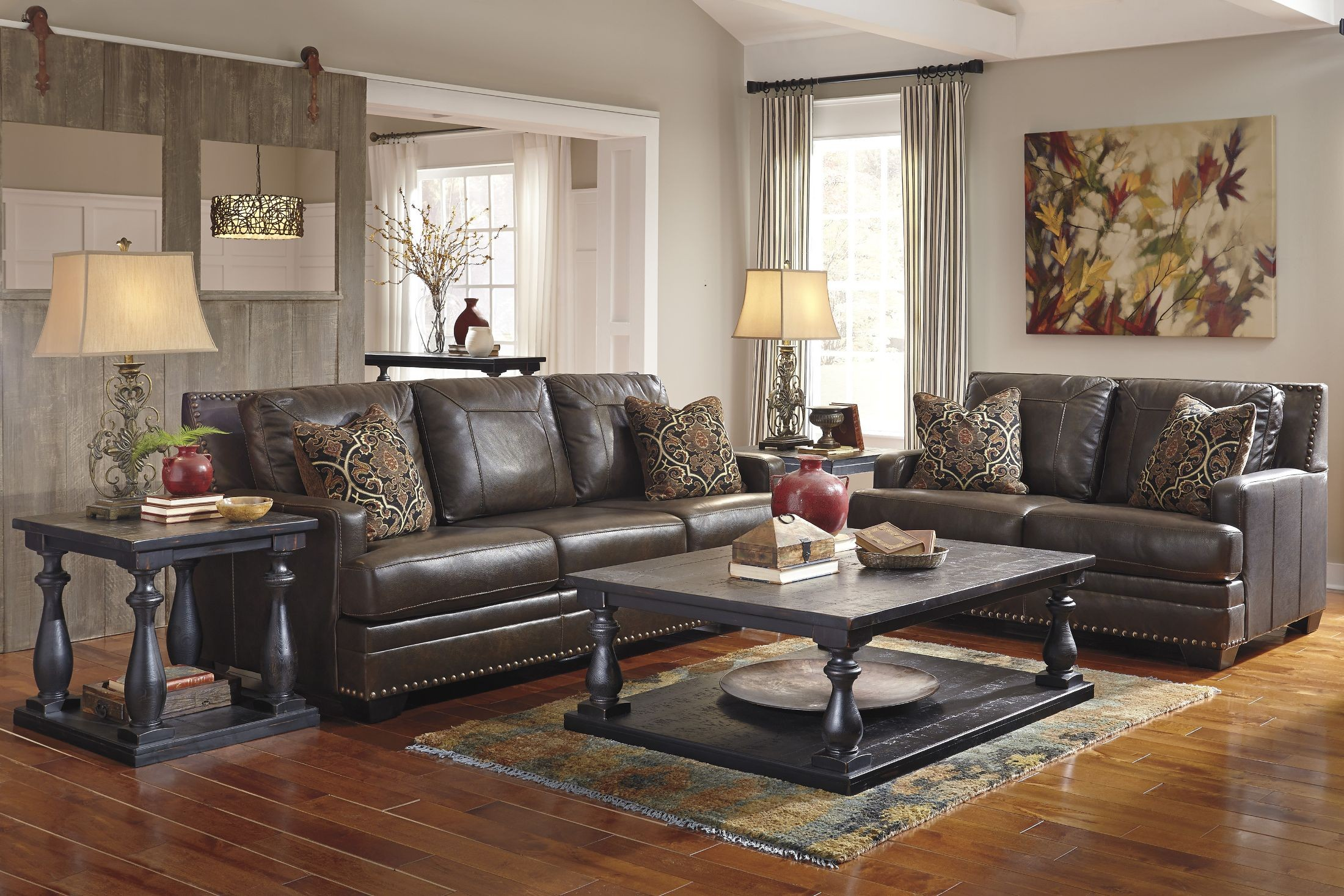 corvan antique living room set from ashley 6910338 coleman