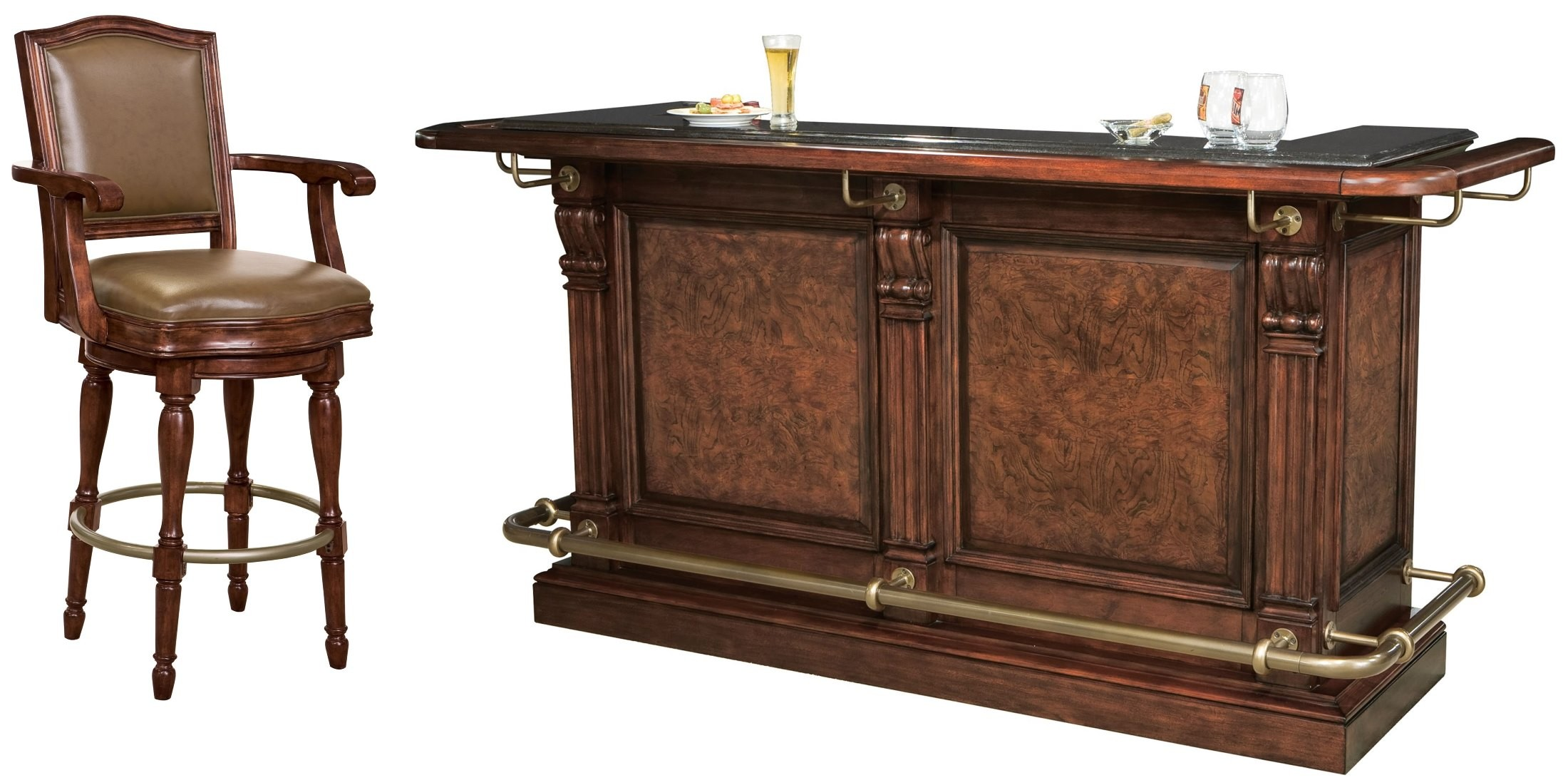 Cheers Bar Set From Howard Miller 693027 Coleman Furniture