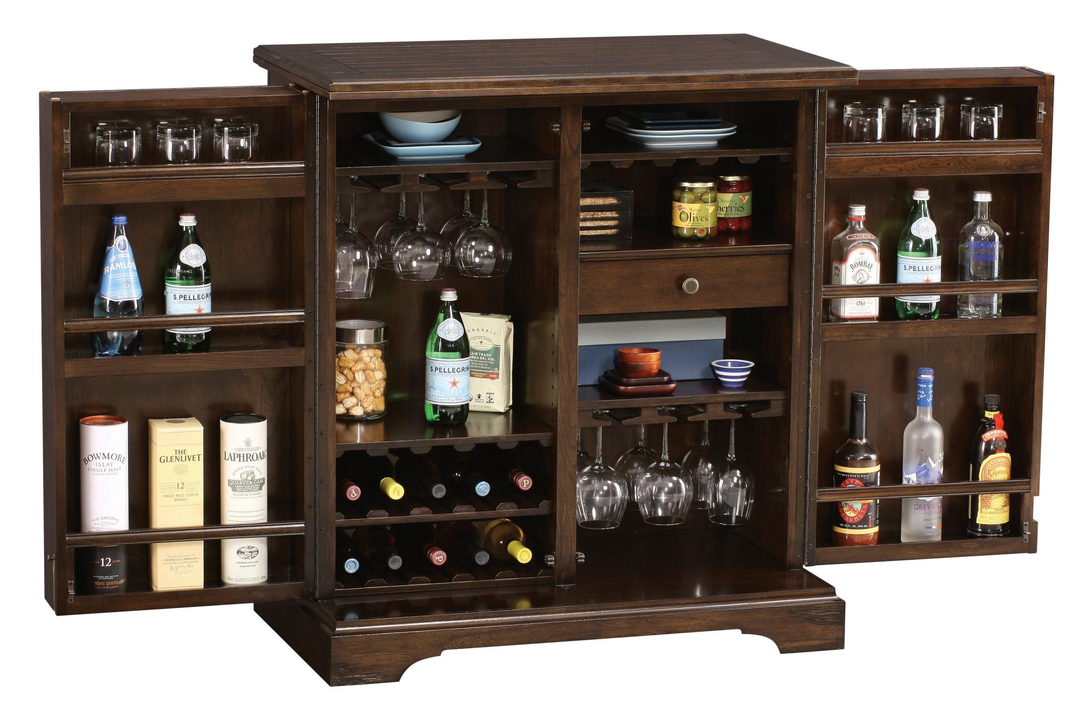 benmore valley wine bar cabinet from howard miller. Black Bedroom Furniture Sets. Home Design Ideas