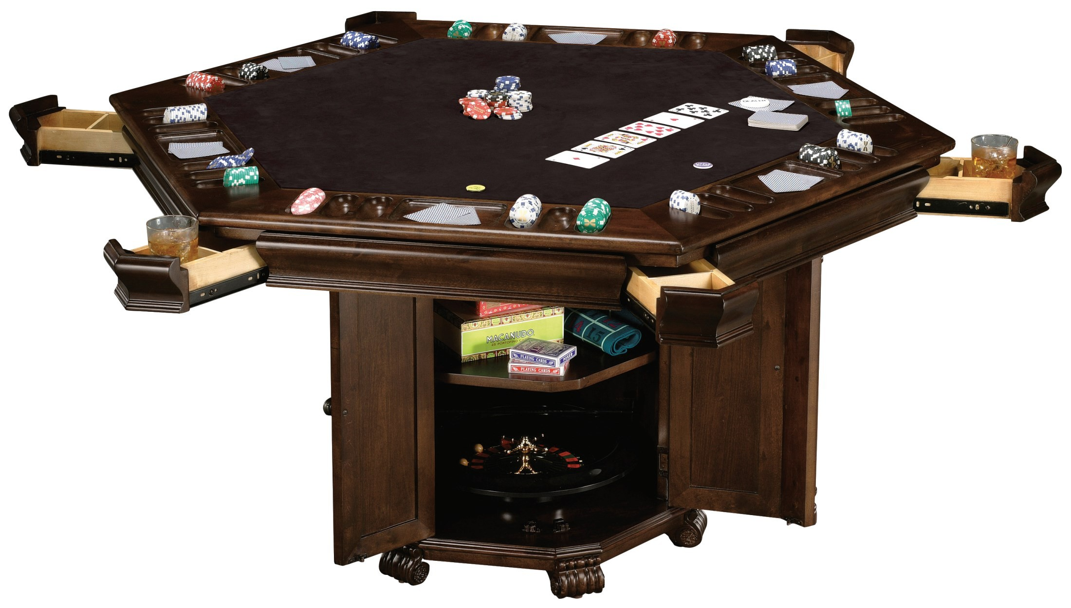Niagara pub game table from howard miller 699013 for 10 games in 1 table