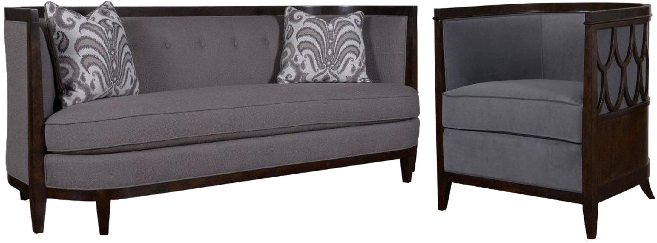 Morgan Charcoal Living Room Set from ART 5001AA