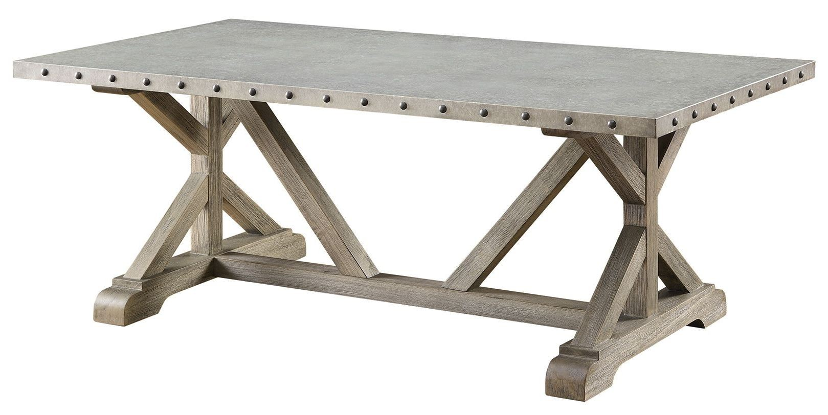 Driftwood Coffee Table From Coaster 703748 Coleman Furniture