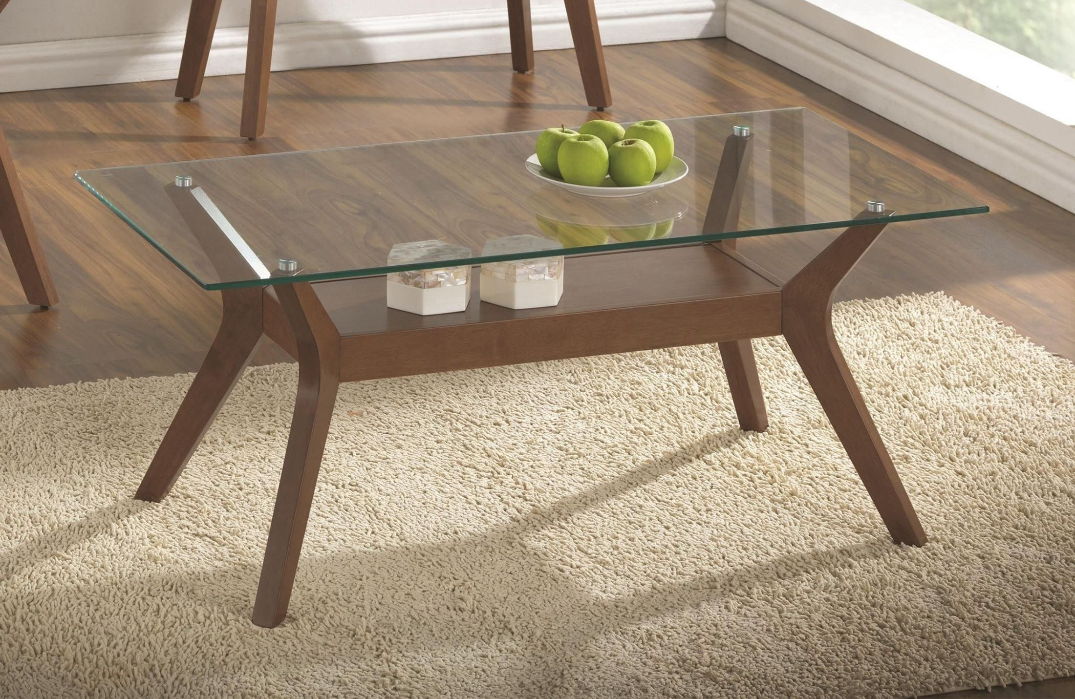 Glass top occasional table set from coaster 704168 for Glass top occasional tables