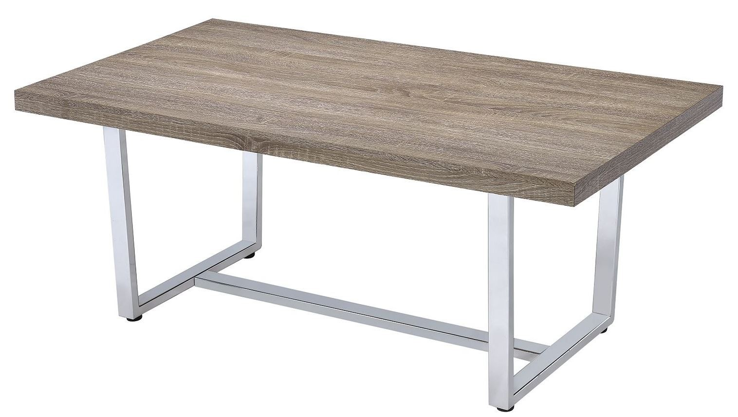 Weathered Taupe Coffee Table From Coaster 704188 Coleman Furniture