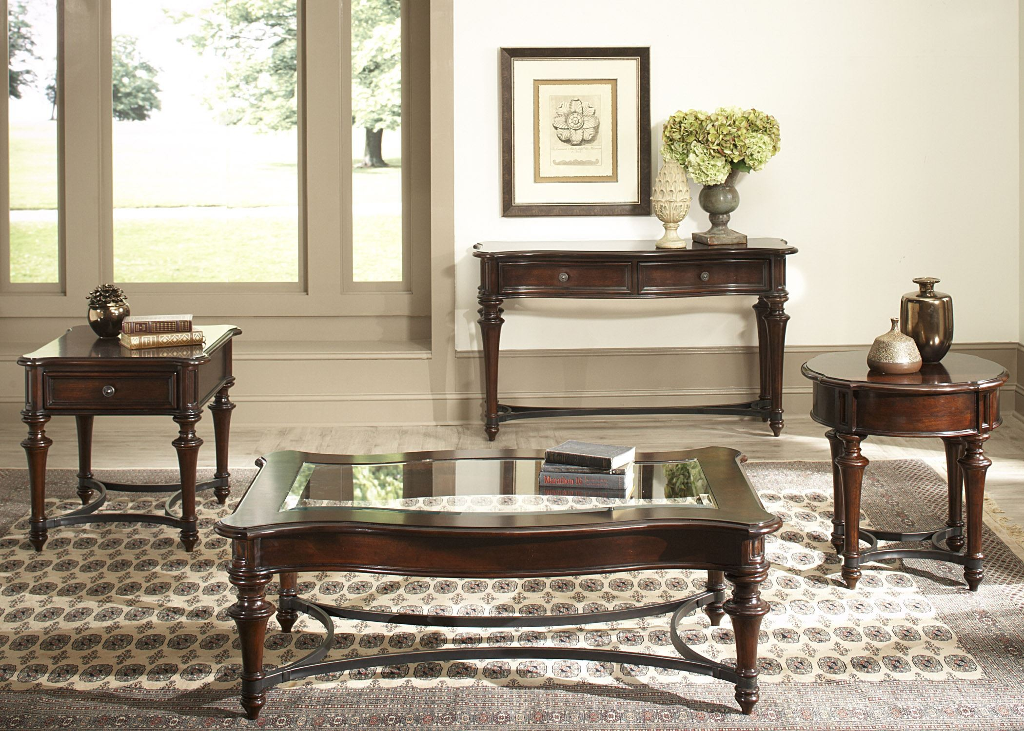 Kingston Plantation Occasional Table Set from Liberty 720