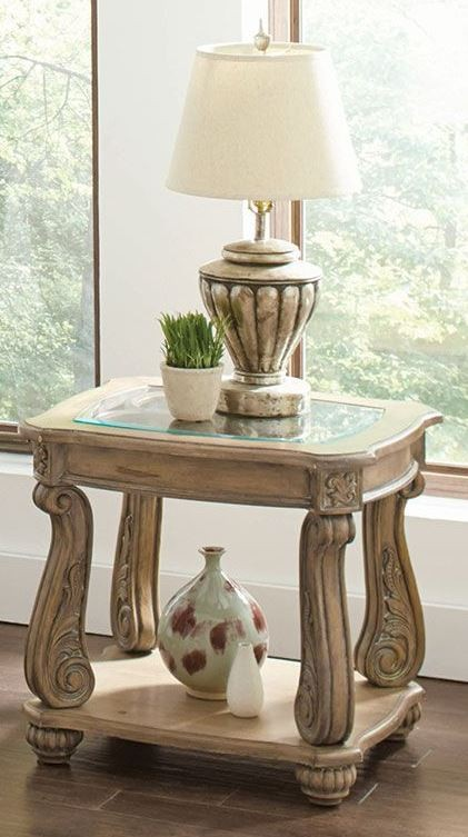 Trivellato Antique Linen Coffee Table 720598 Coaster Furniture
