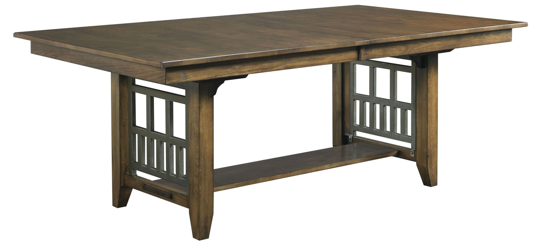Bedford Park Extendable Trestle Dining Table from Kincaid  : 74 054 from colemanfurniture.com size 2200 x 1007 jpeg 188kB