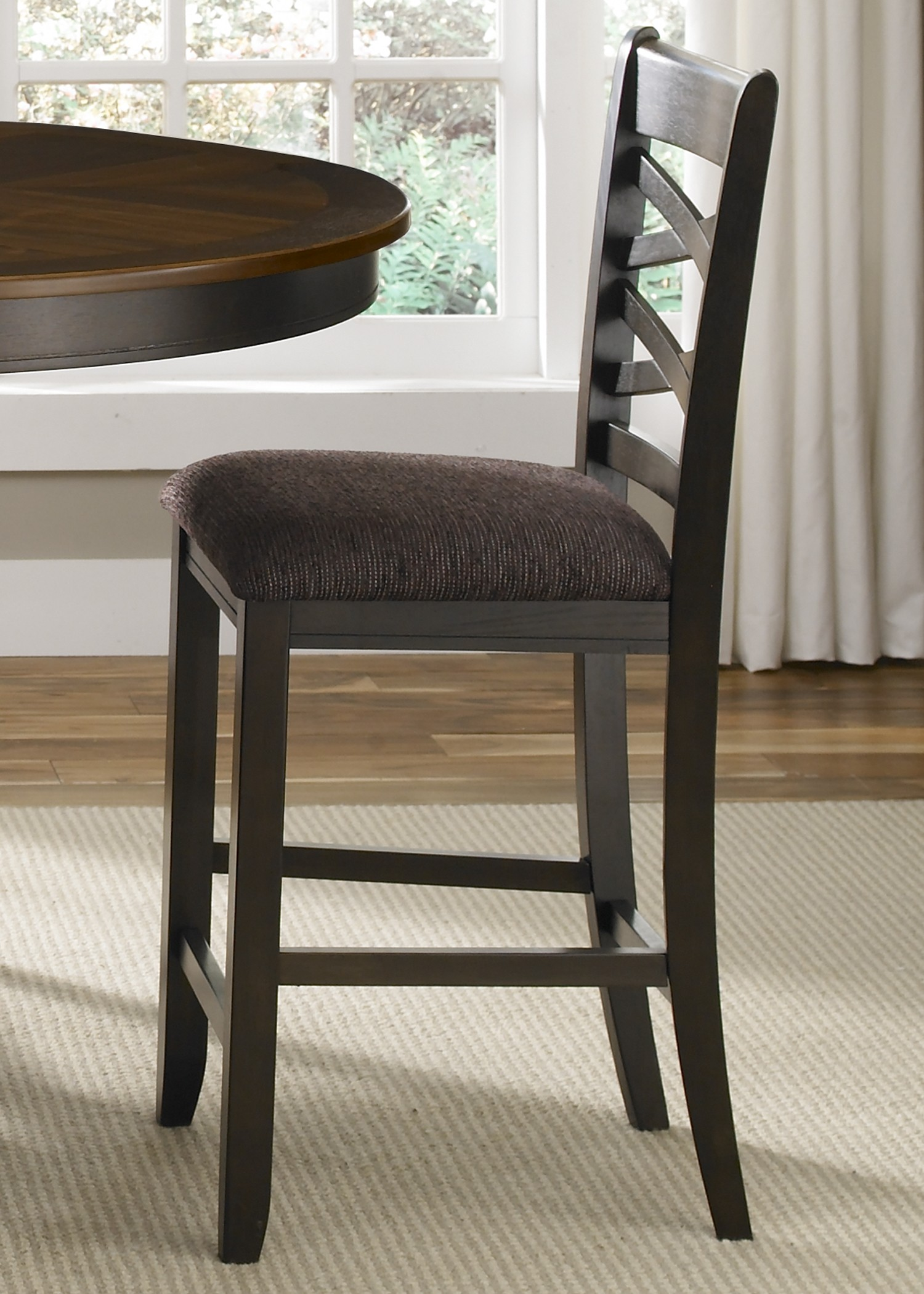 ... Bistro II Double X Back Counter Height Chair - 74-B300124 - Furniture
