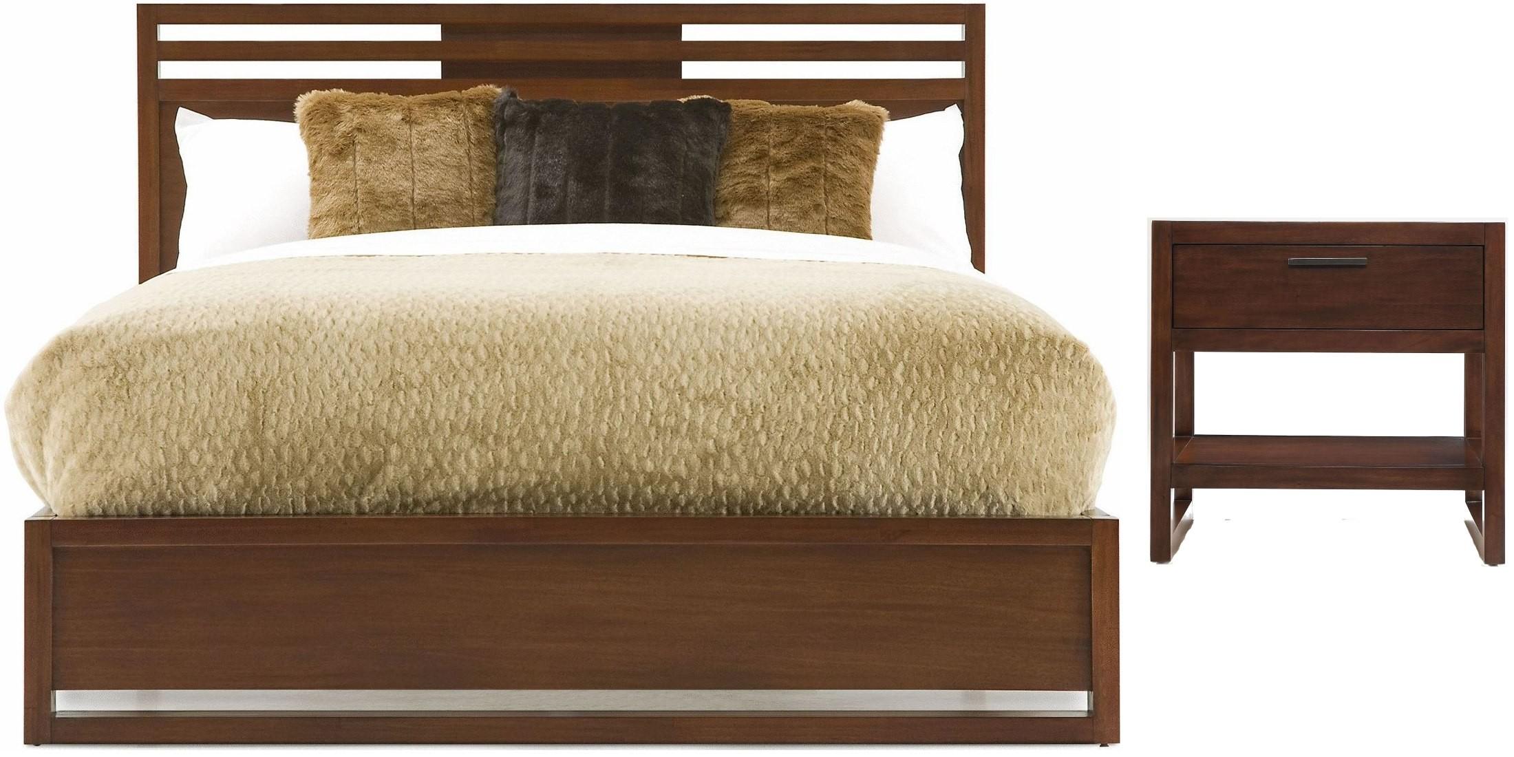 Tahoe Brown Platform Bedroom Set 740 920KQ Casana