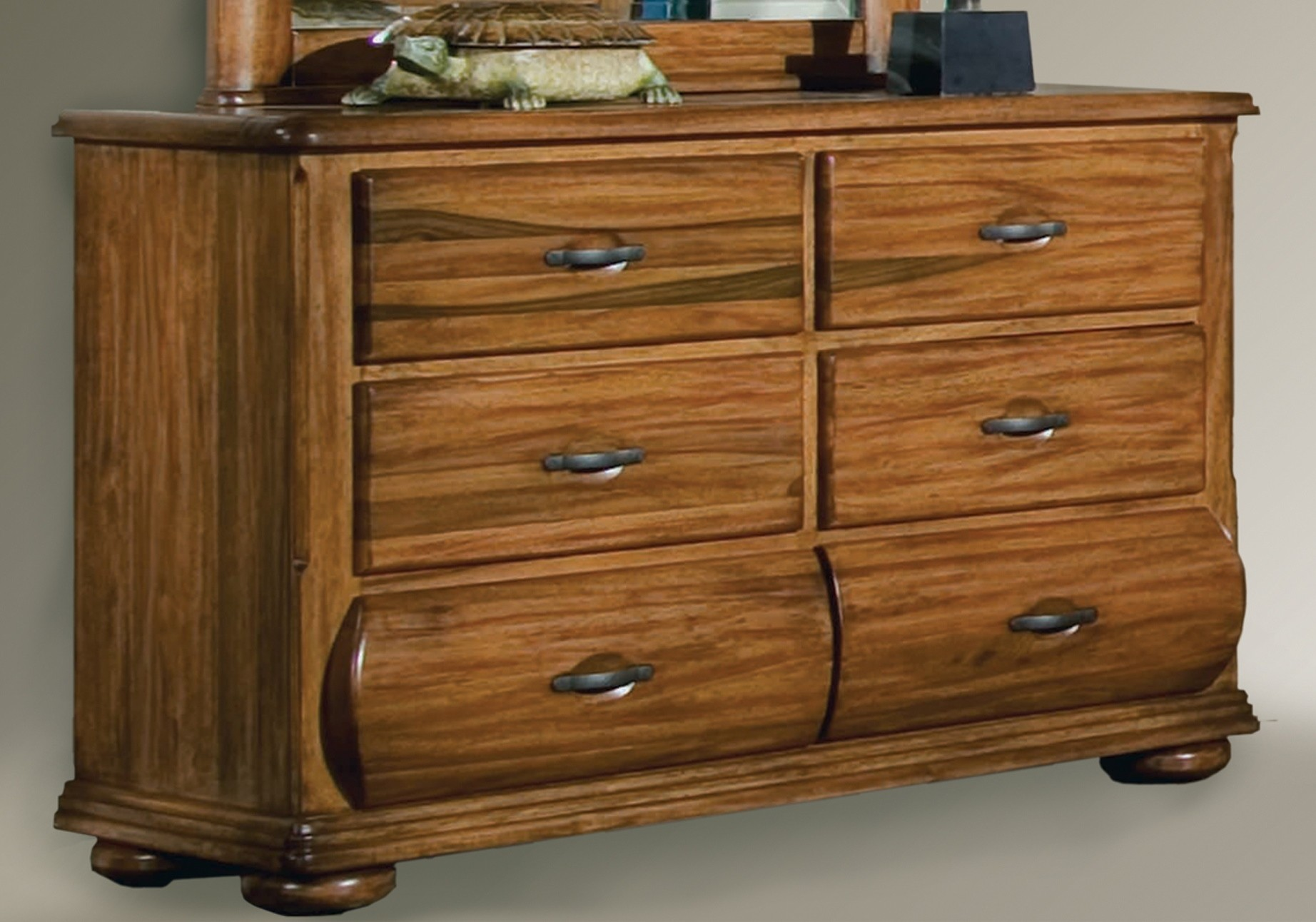 Timberline Double Dresser 7400 260 American Woodcrafters Youth Furniture