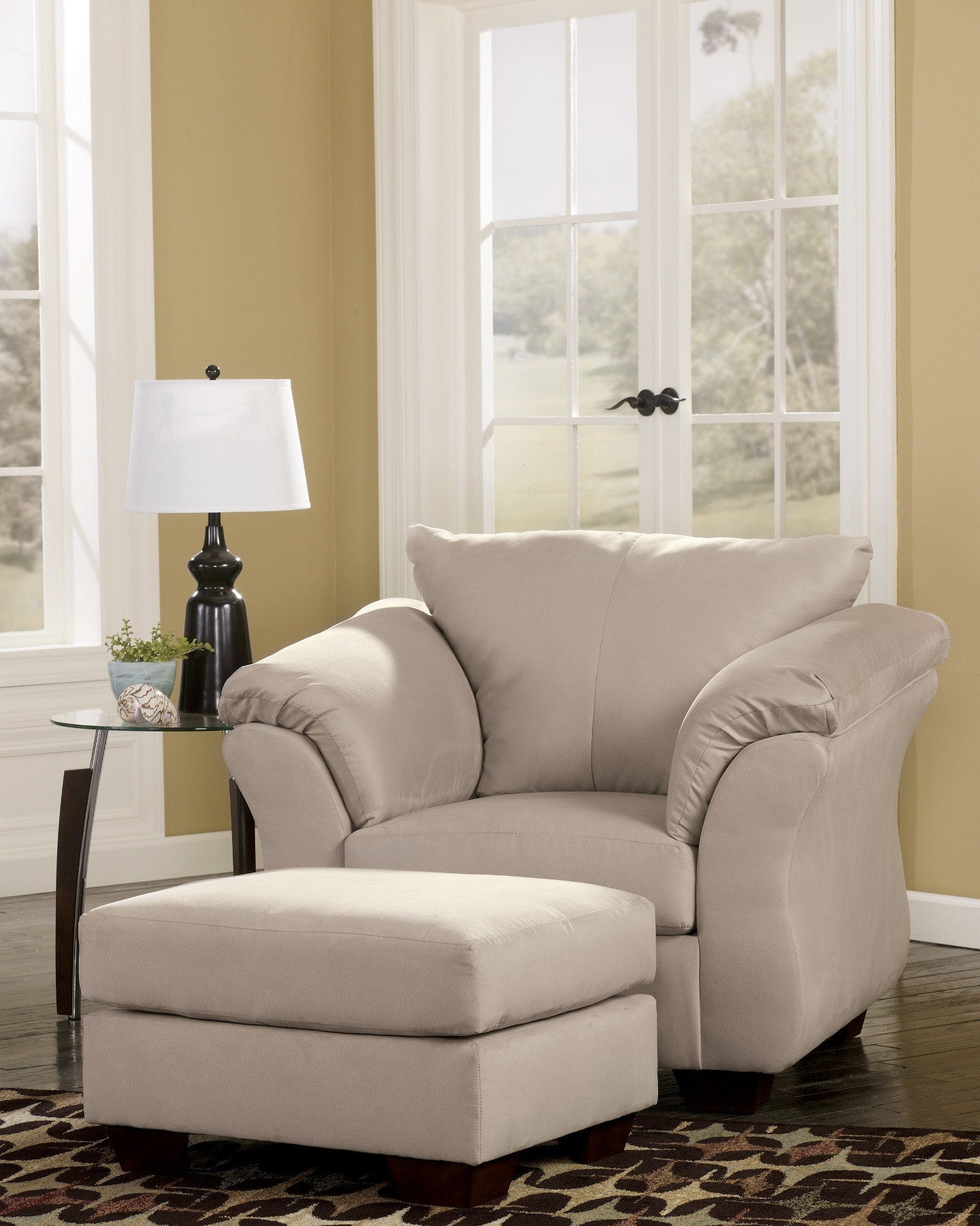 Darcy stone living room set from ashley 75000 coleman furniture