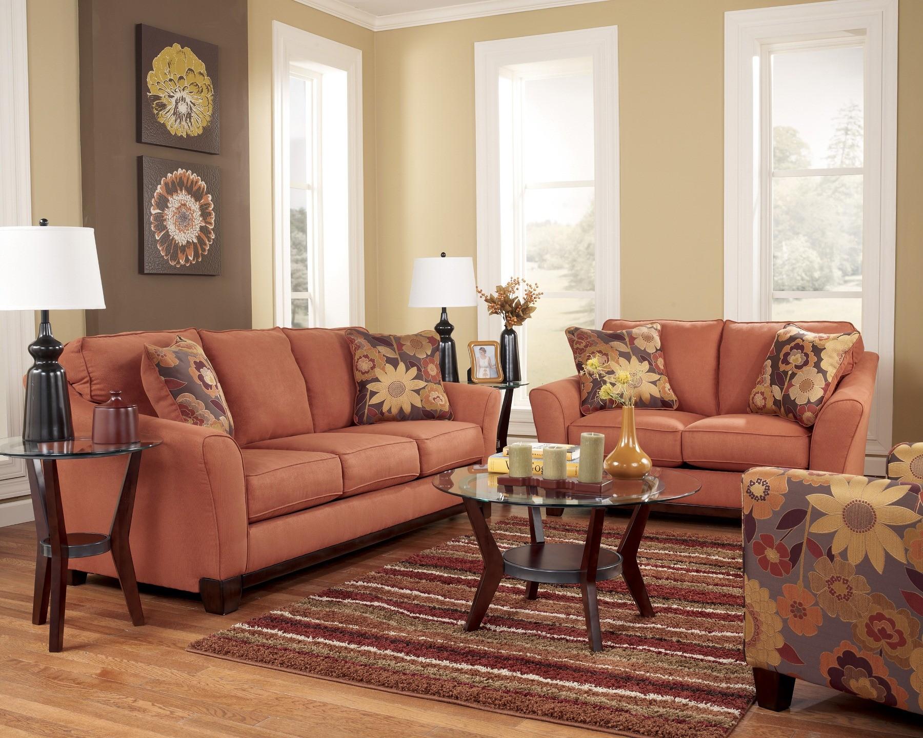 Ashley Gale Russet Living Room Set
