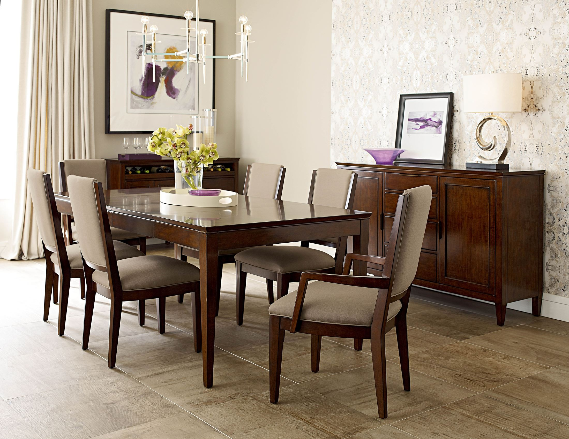 Elise Extendable Leg Dining Room Set From Kincaid 77 054 Coleman Furniture