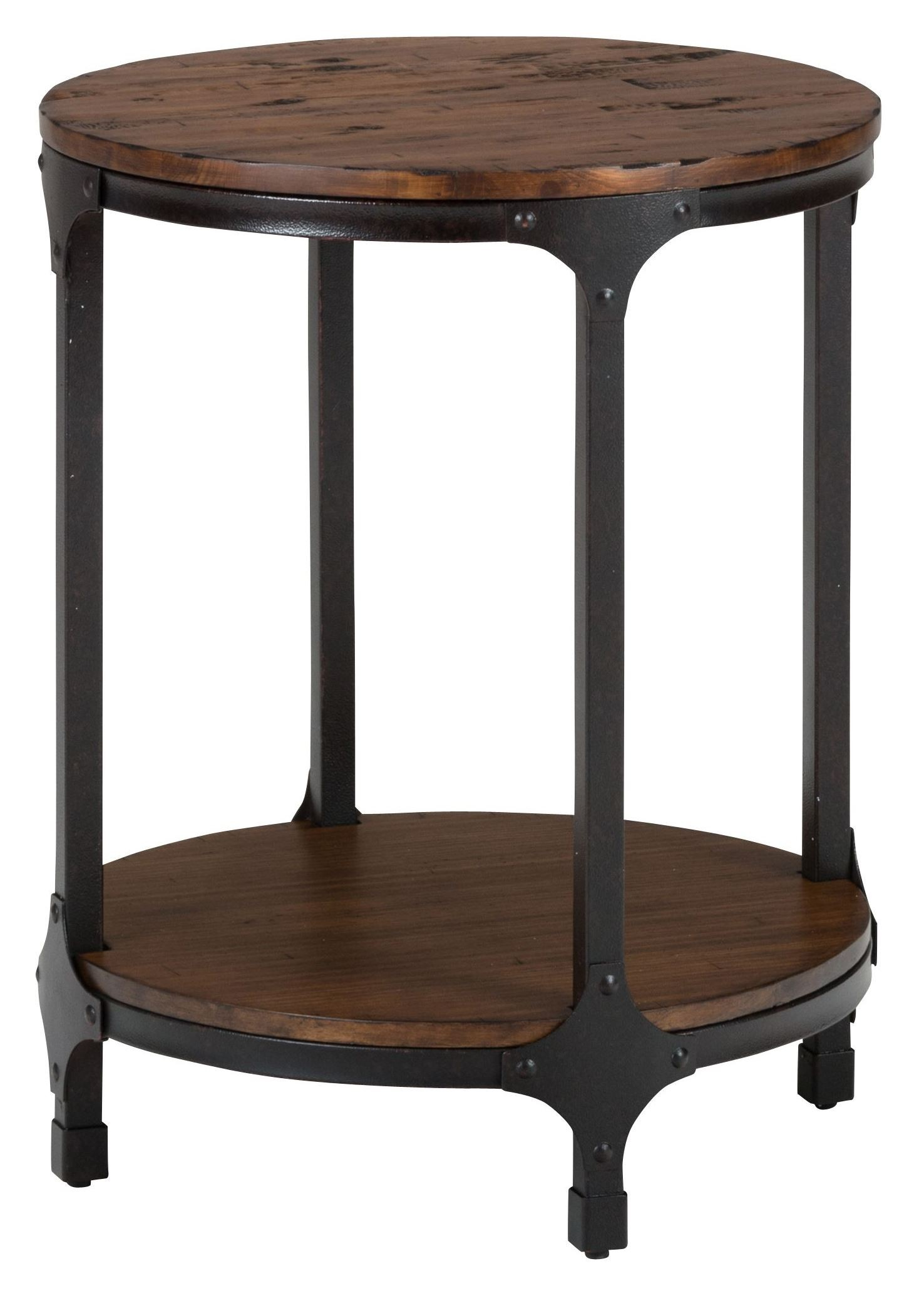 Urban nature round chairside table 785 6 jofran for Chairside table