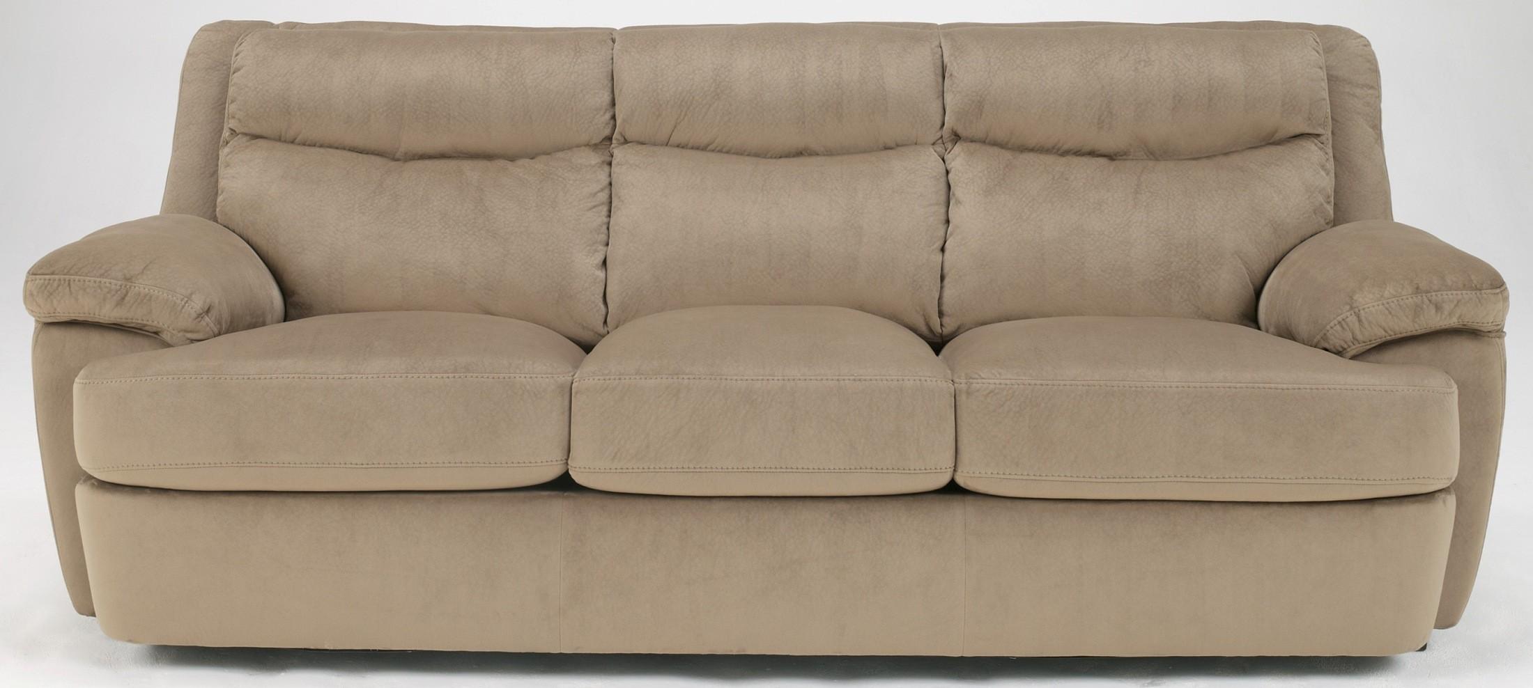 Ashley crinkle plush cocoa living room set 78900 sofa set for Plush living room furniture