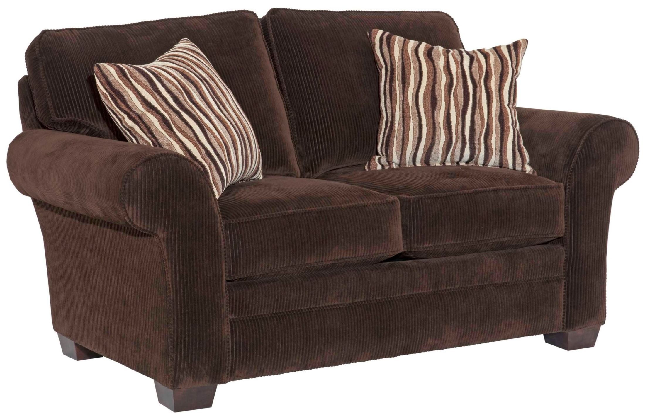 Zachary Affinity Microfiber Loveseat From Broyhill 7902 1q 7973 87 Coleman Furniture