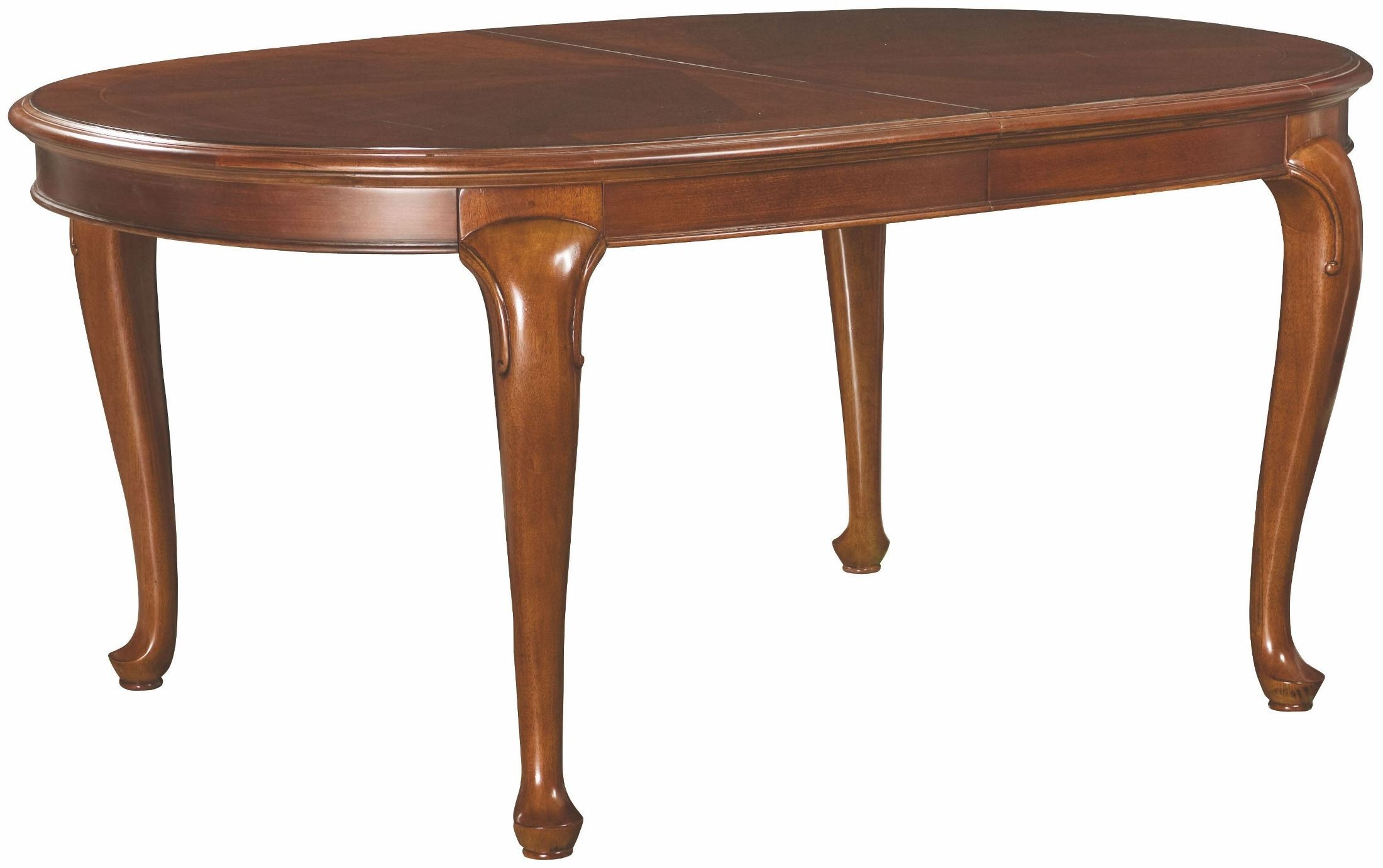 Cherry grove classic antique extendable cherry oval leg for One leg dining table