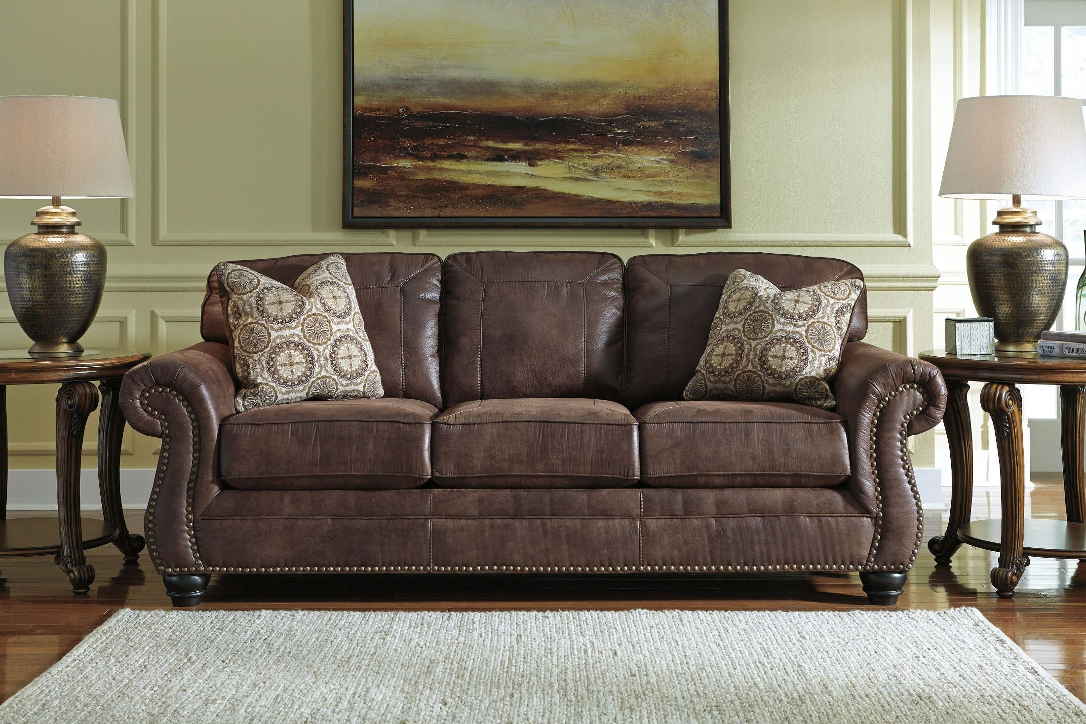 Breville Espresso Stationary Sofa From Ashley 8000338 Coleman Furniture