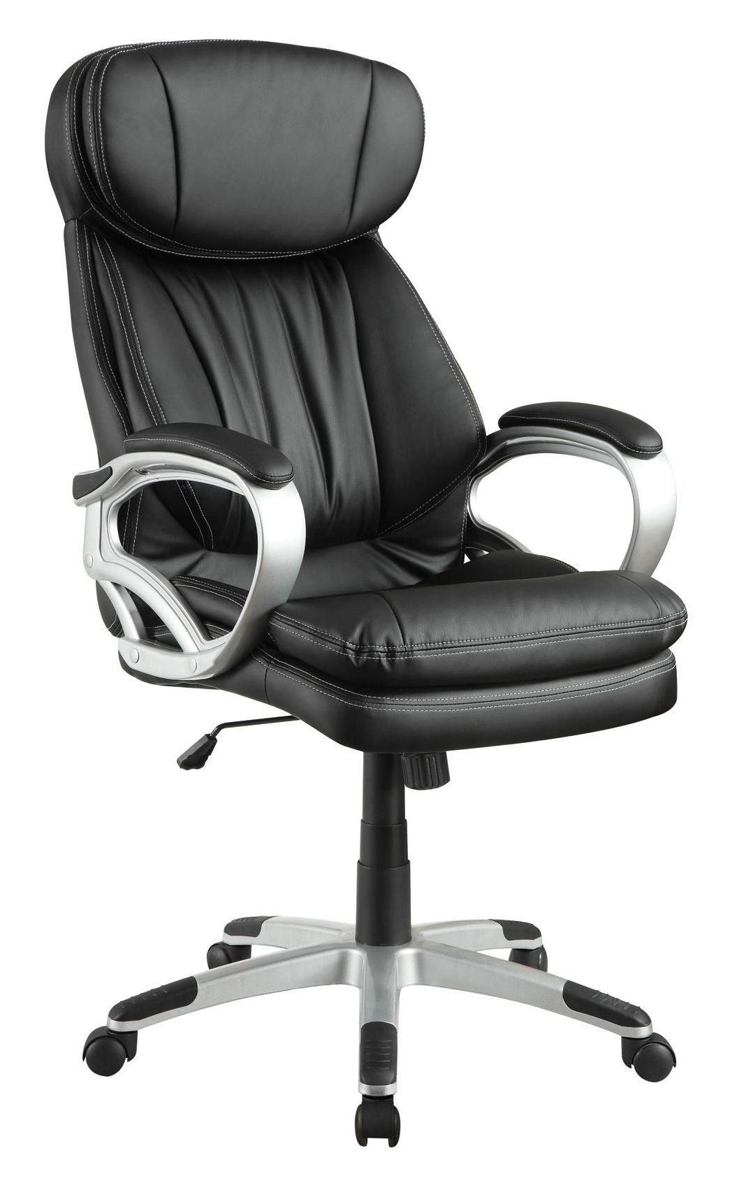upholstered office chair from coaster 800165 coleman furniture