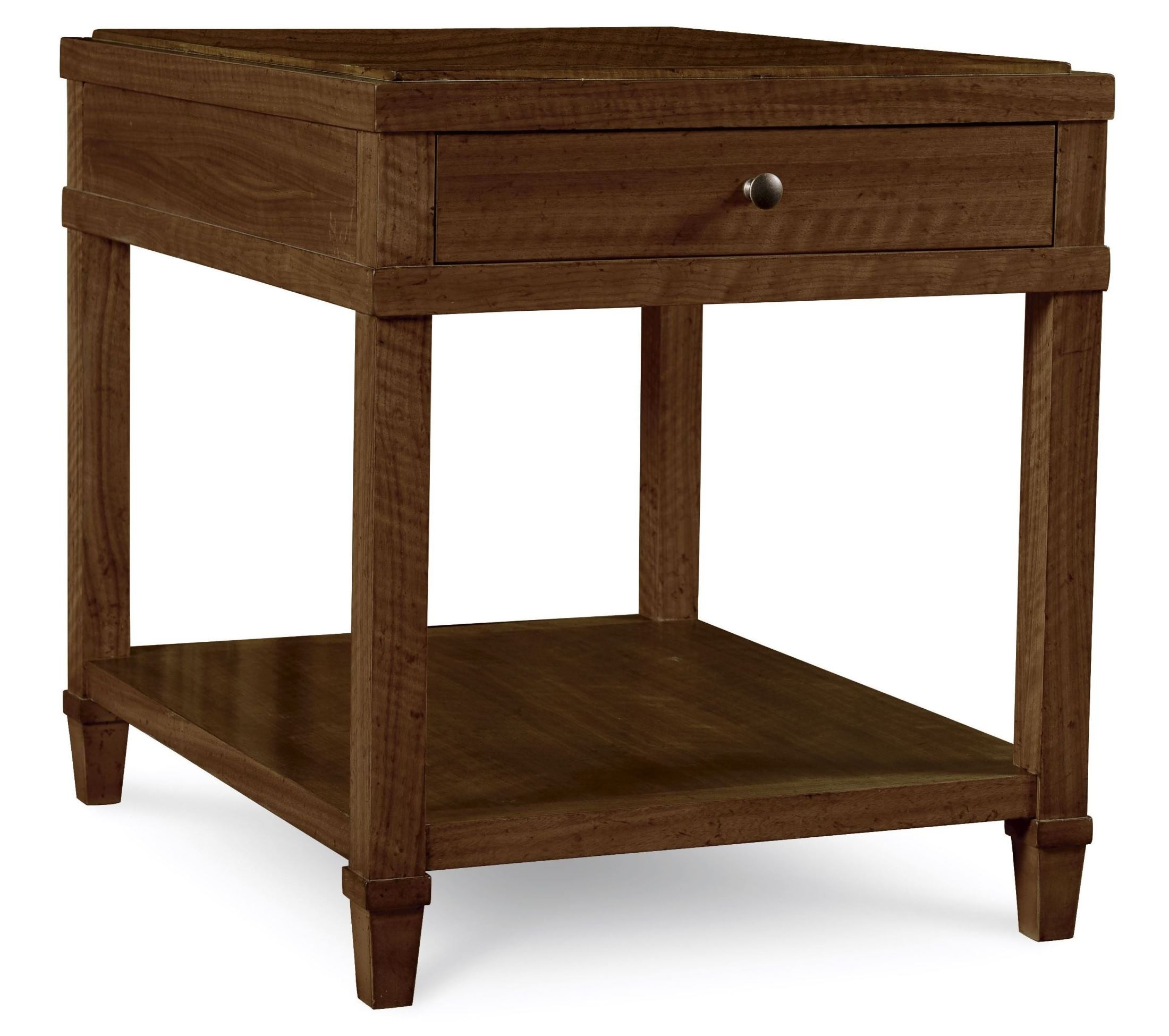 The Foundry Brownstone Crossroads End Table From Art 801334 1830 Coleman Furniture