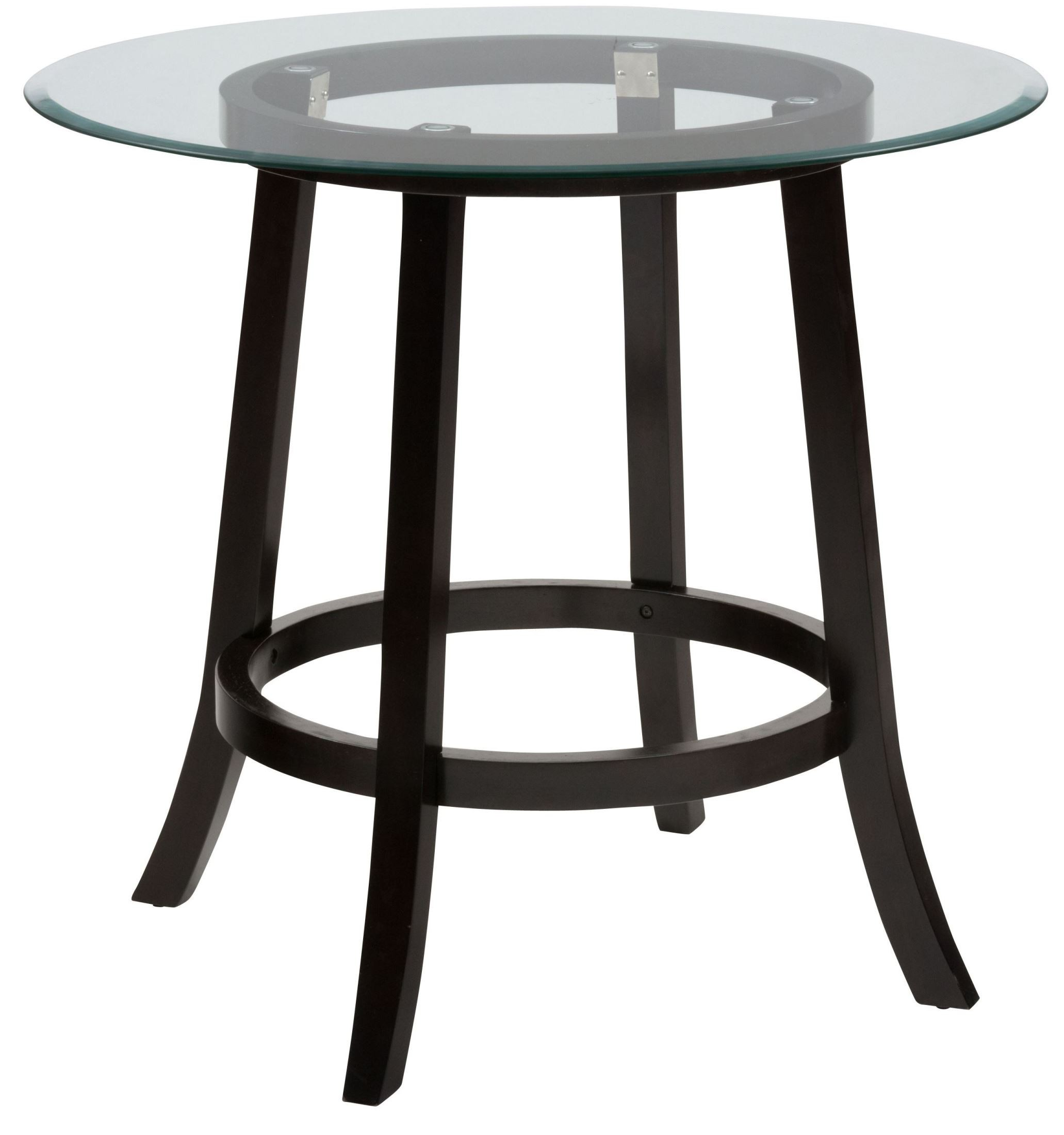 Aaron Pub 42quot Glass Top Round Counter Height Dining Table  : 815 42bangle from colemanfurniture.com size 2063 x 2200 jpeg 223kB