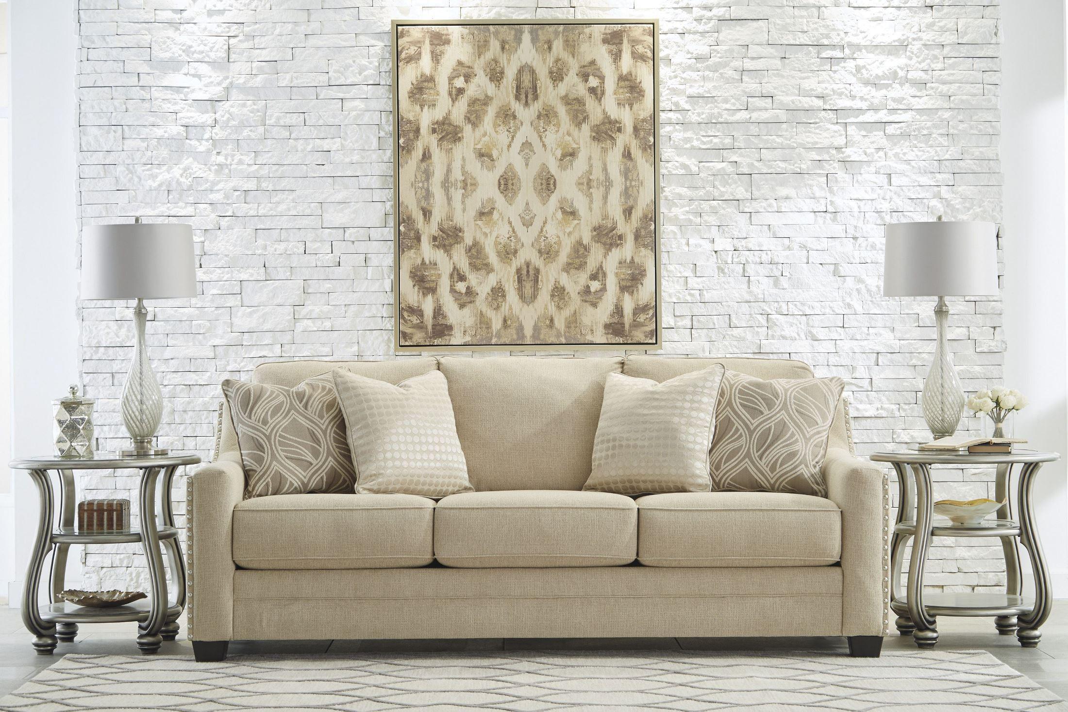 Mauricio Linen Sofa From Ashley 8160138 Coleman Furniture