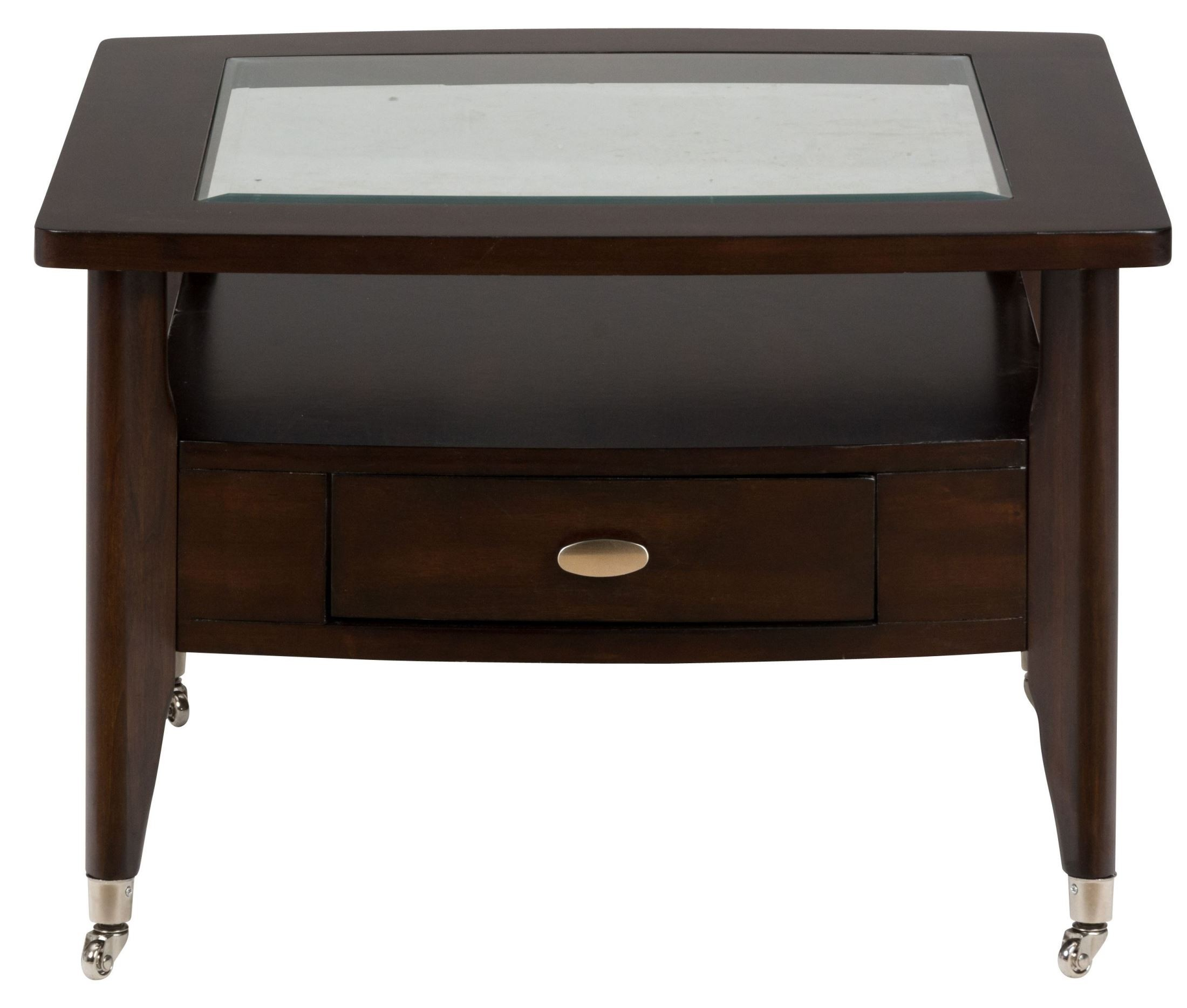 Montego Merlot Square Cocktail Table 827 2 Jofran