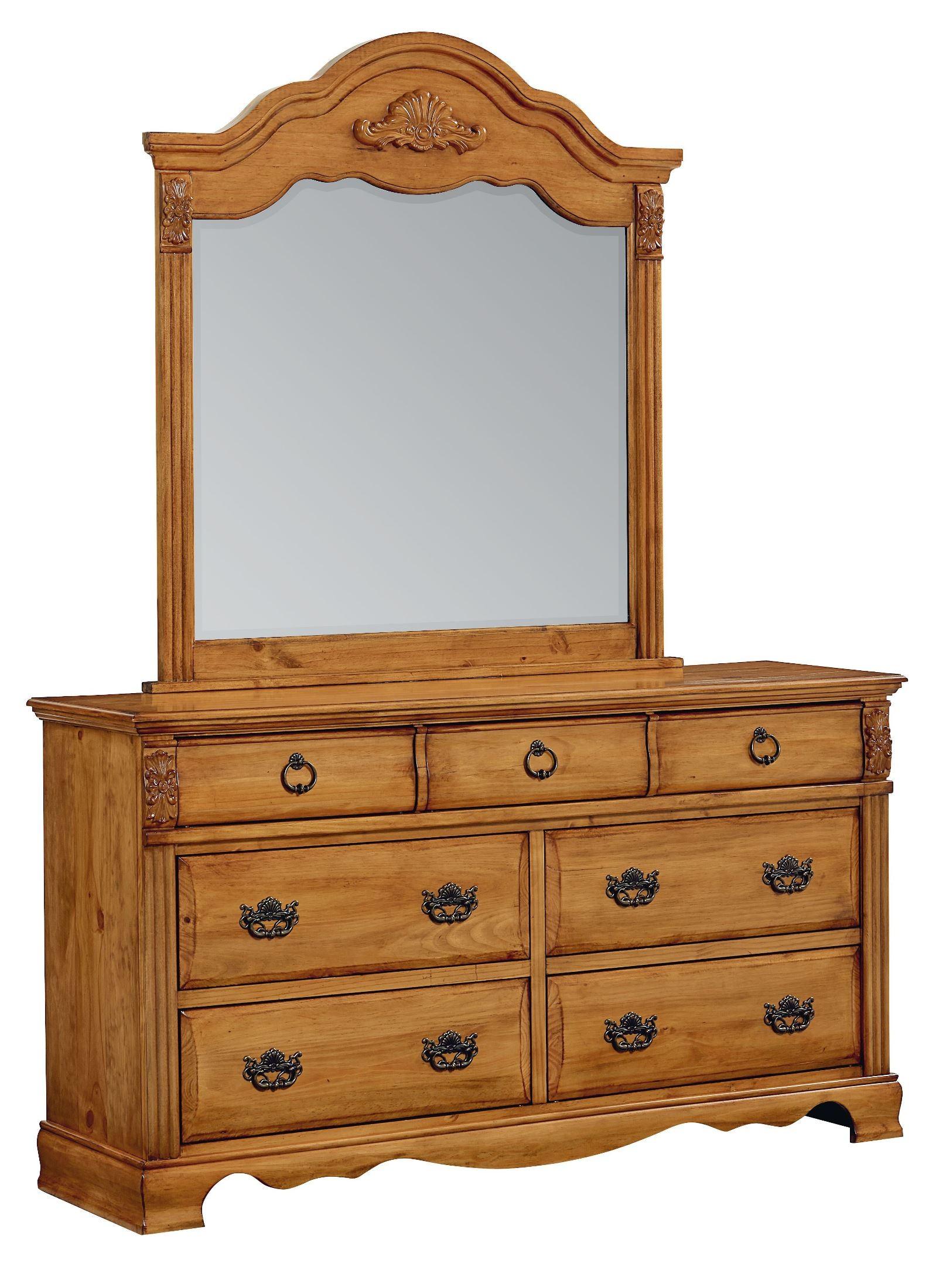 georgetown golden honey pine poster bedroom set from standard 83001 83003 83002 coleman