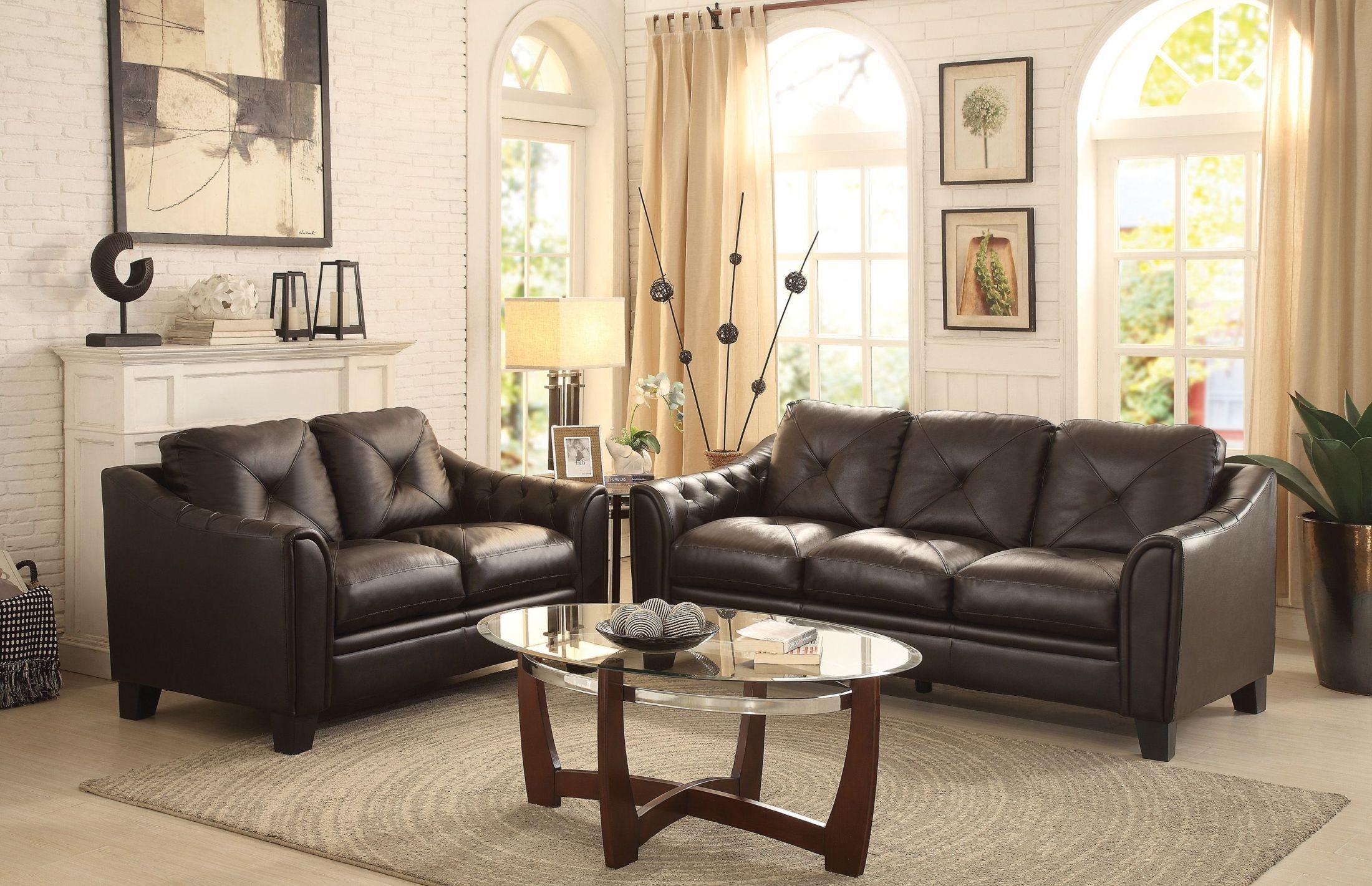 Memphis brown sofa 8311 3 homelegance for Cheap living room furniture memphis tn