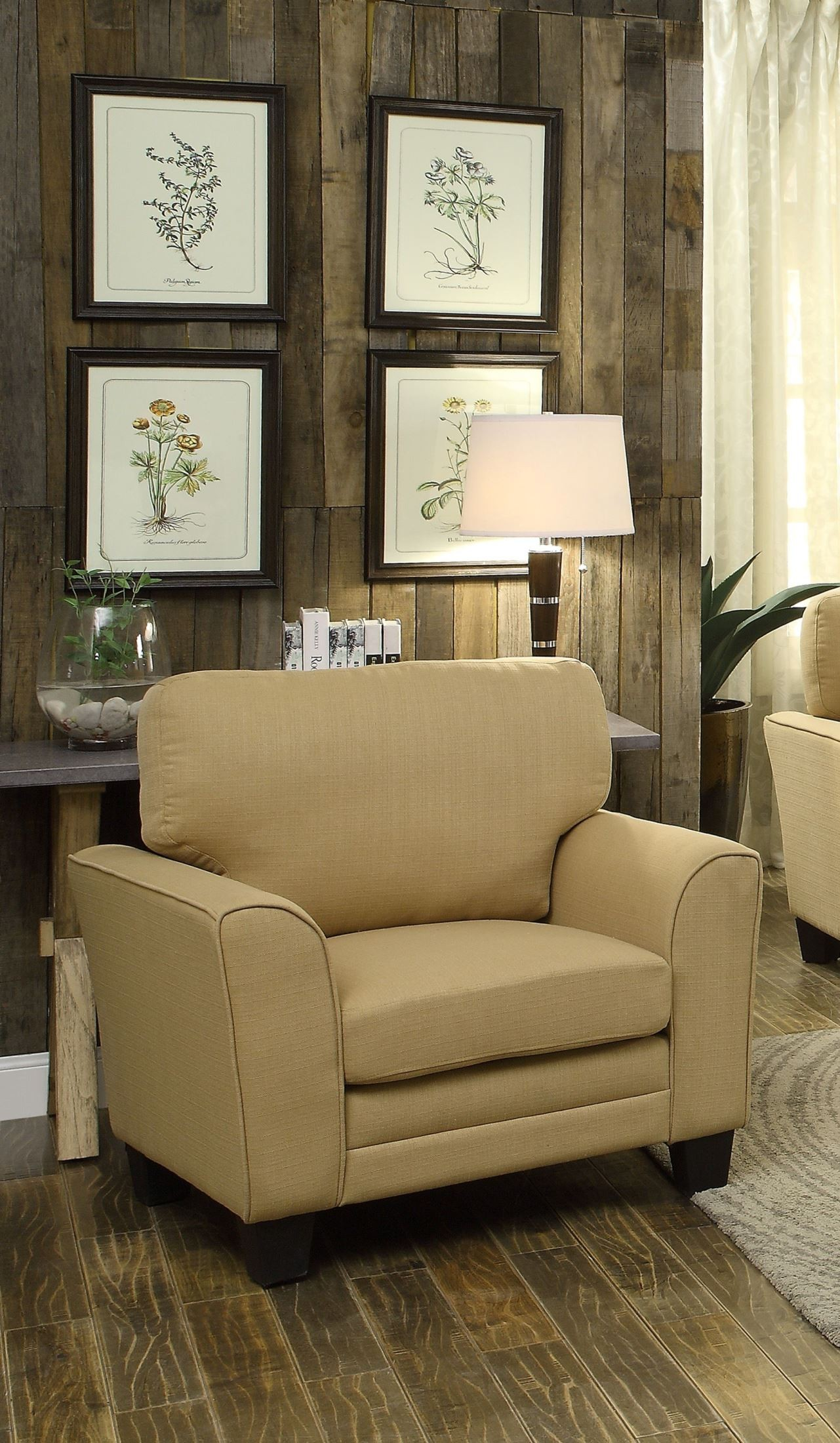 adair yellow living room set from homelegance 8413yw 3 coleman furniture. Black Bedroom Furniture Sets. Home Design Ideas