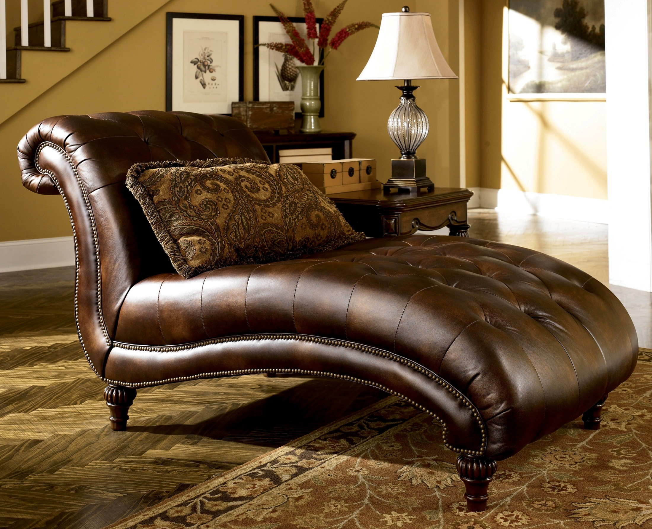 claremore antique living room set from ashley (84303) | coleman