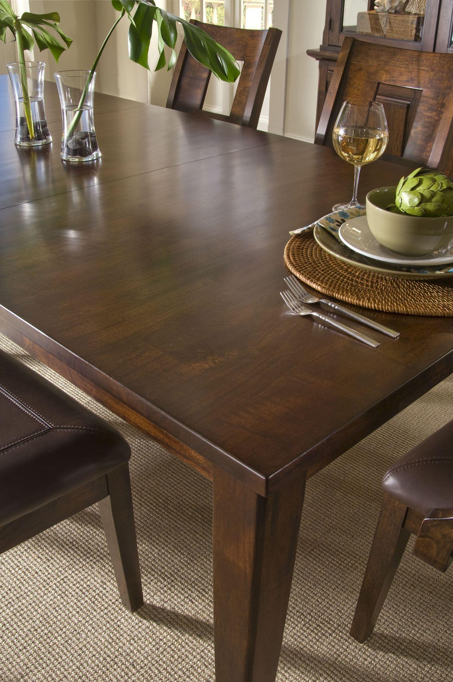 Ashton Dining Room Set Klaussner Furniture Carturra Rich Chocolate