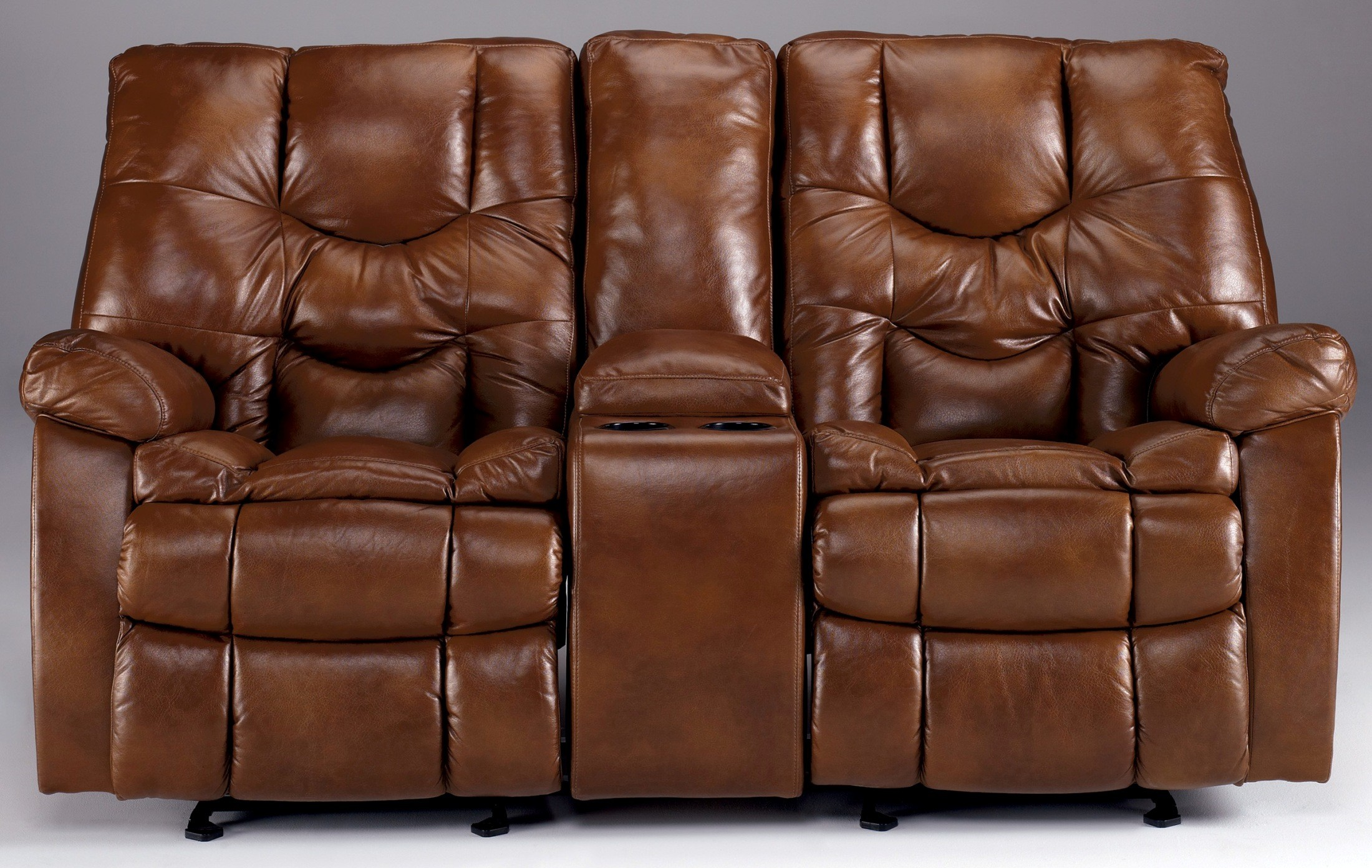 Ashley Hawkeye Dune Reclining Sofa With Power