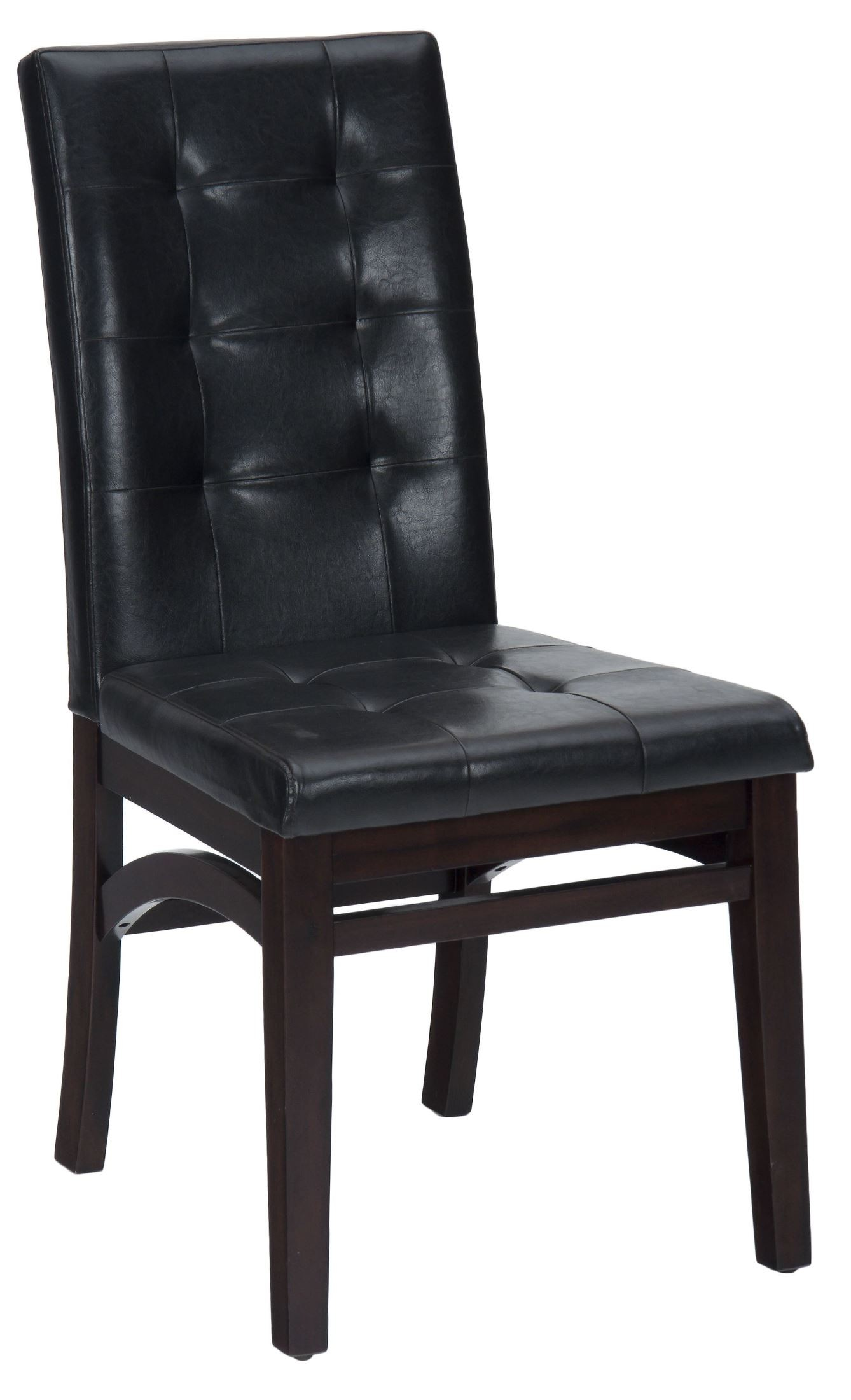 Chadwick Espresso Faux Leather Tufted Back Upholstered  : 863 945kdangle from colemanfurniture.com size 1338 x 2200 jpeg 201kB