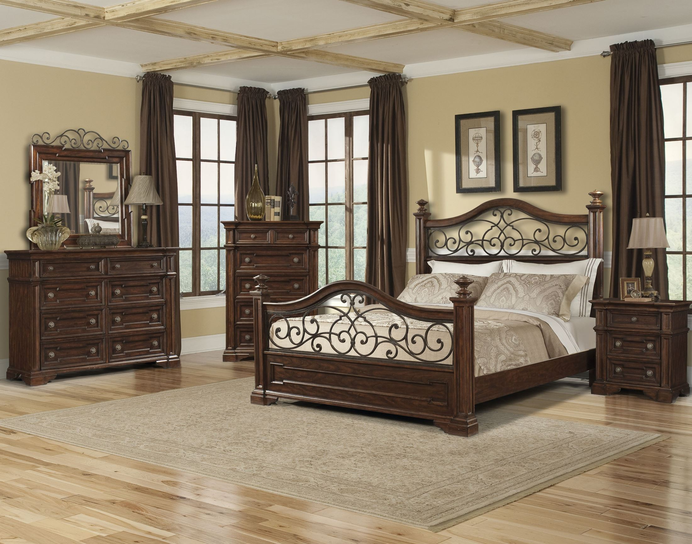 San Marcos King Poster Bed From Klaussner 872 Kbed