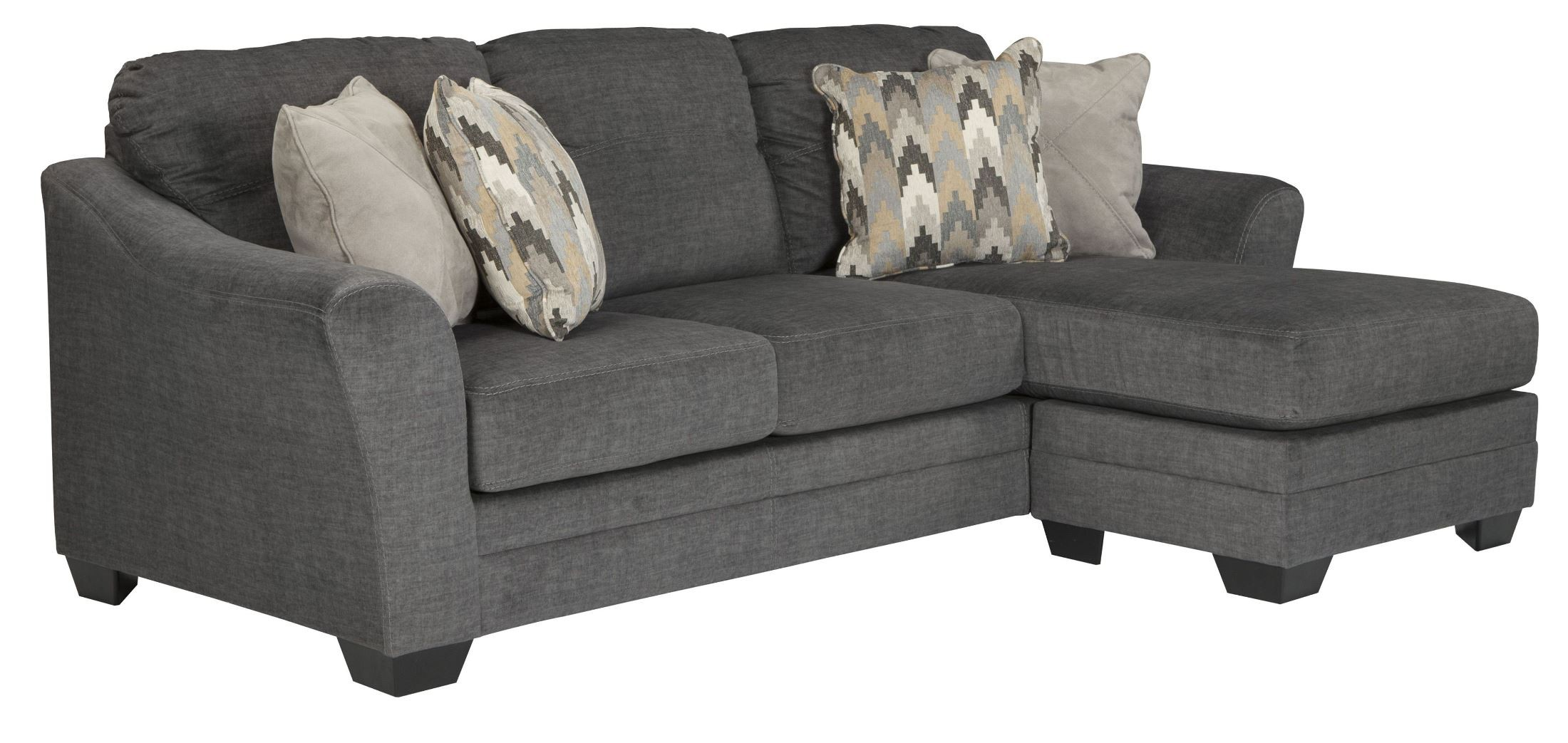 Braxlin Charcoal Sofa Chaise From Ashley 8850218
