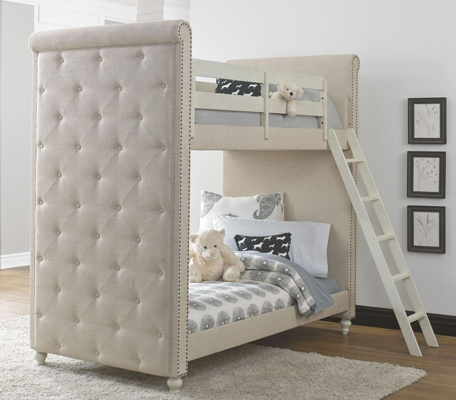 madison bunk bedroom set from samuel lawrence 8890 730 731 732