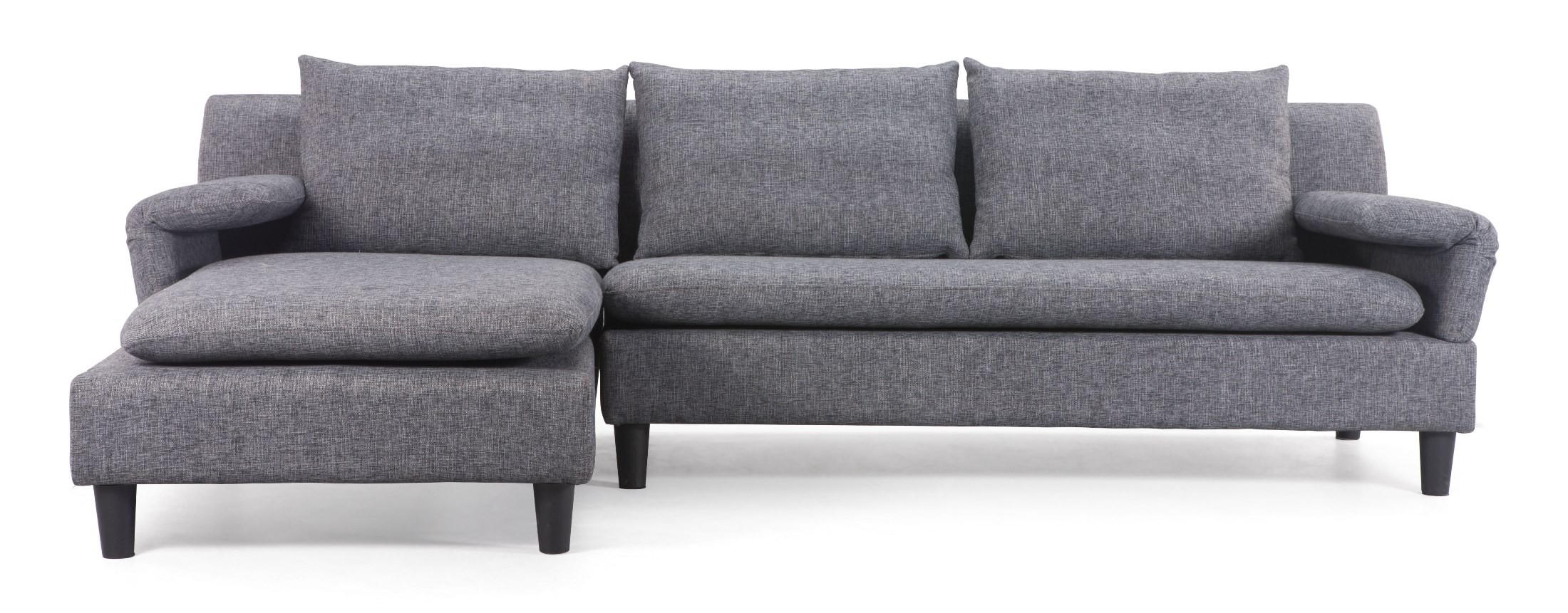 Axiom ash gray sofa from zuo mod 900600 coleman furniture for Gray sofas for sale