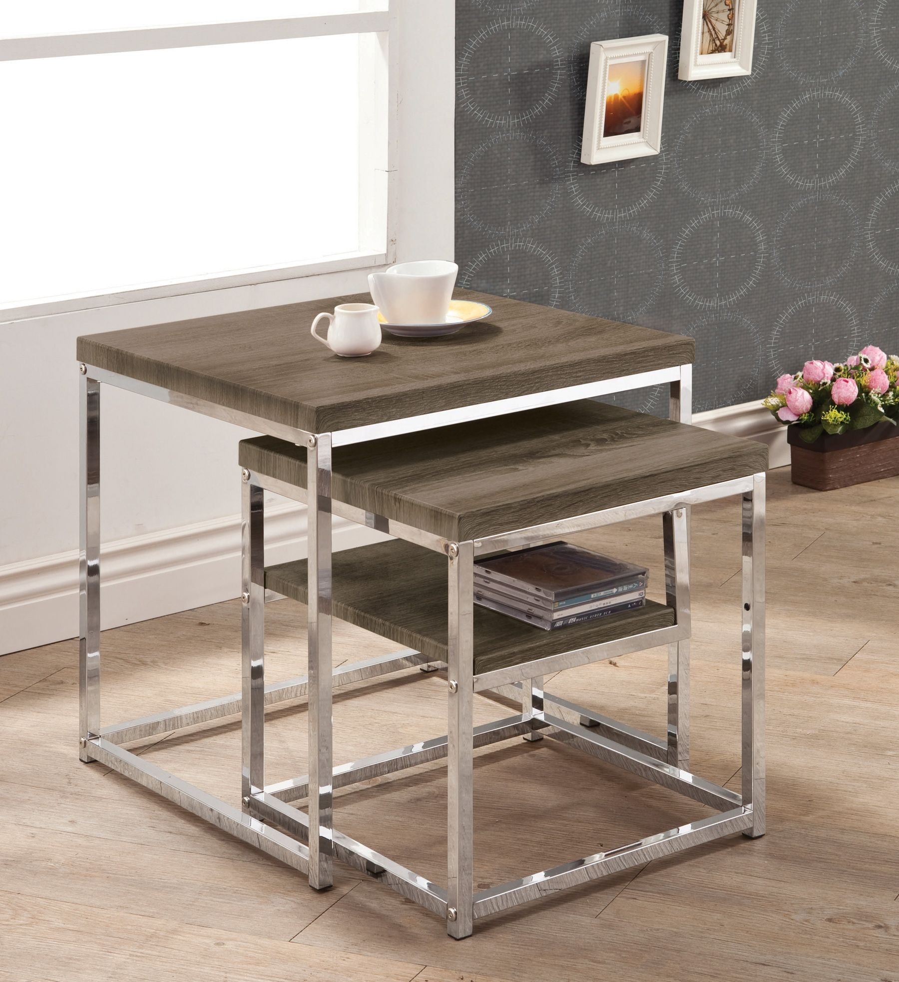 901288 2 Pieces Nesting Table From Coaster (901288) Coleman . Full resolution  photo, nominally Width 1800 Height 1966 pixels, photo with #AD861E.
