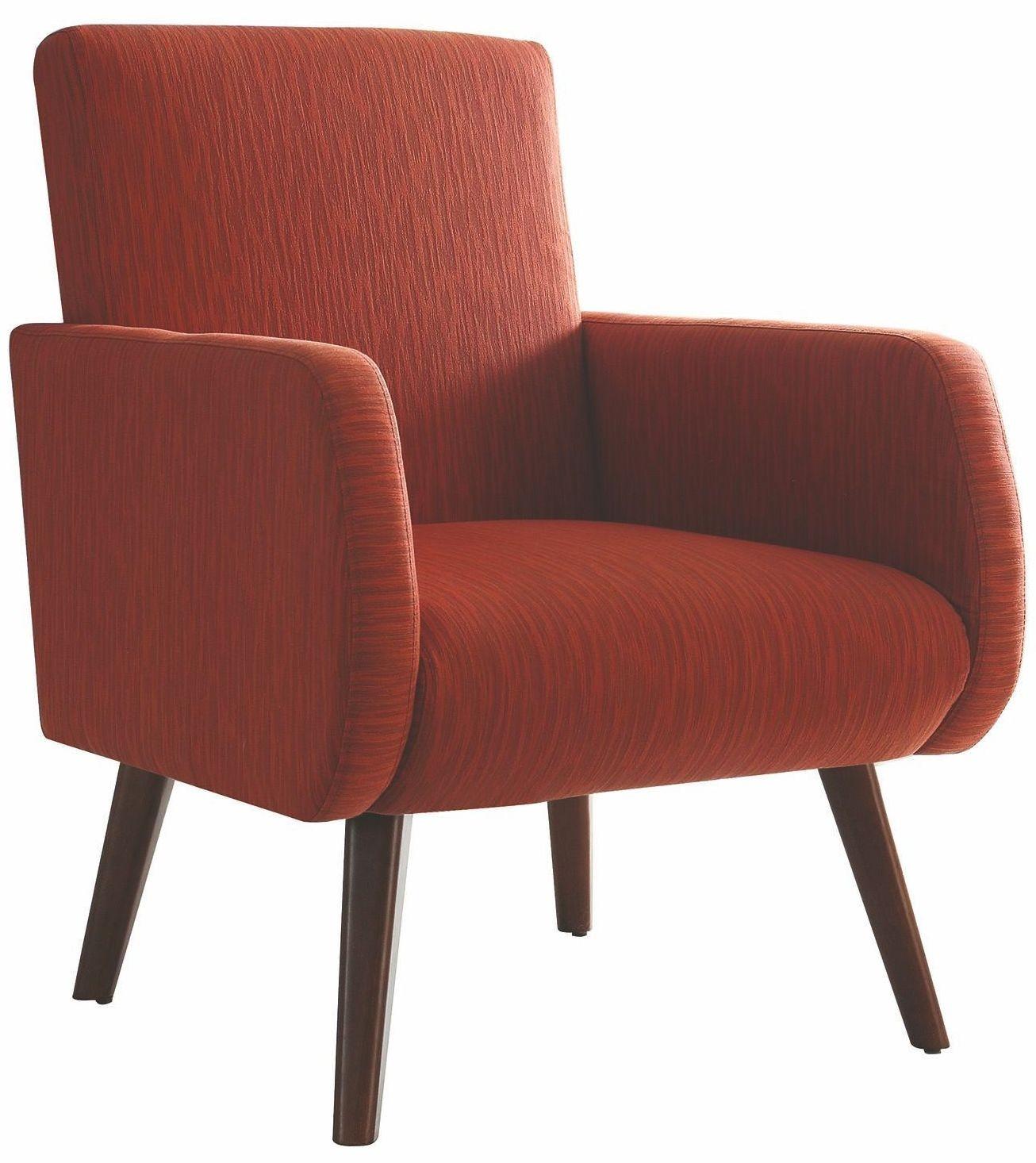 Orange Accent Chair 902782 Coaster Furniture