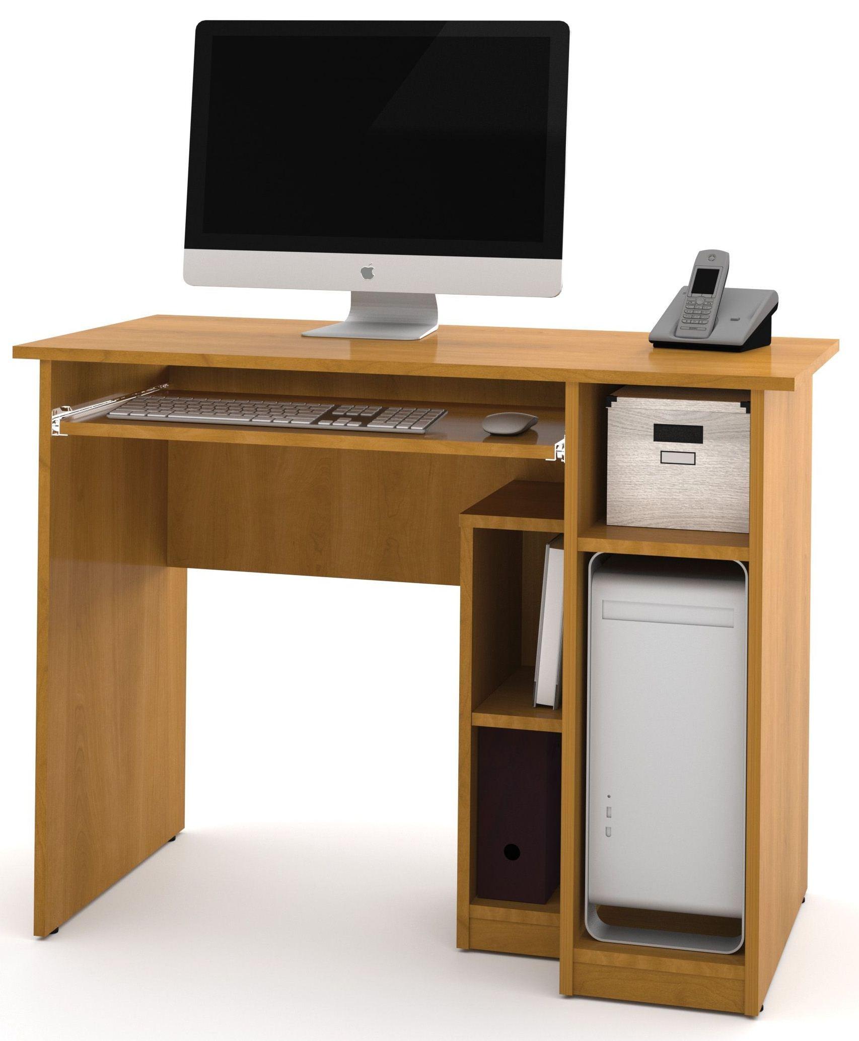 Basic Cappuccino Cherry Computer Desk from Bestar (90400-1168